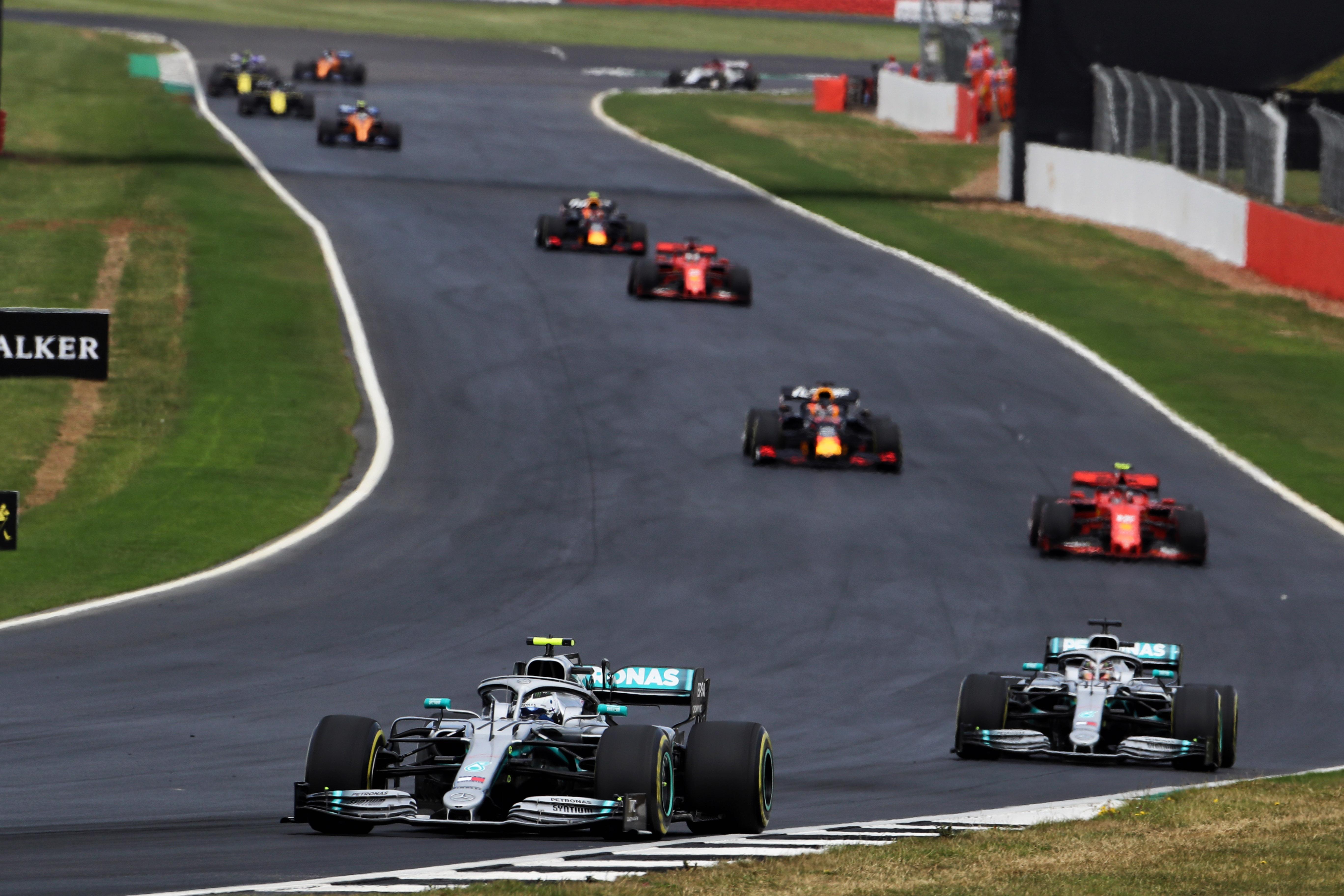 Motor Racing Formula One World Championship British Grand Prix Race Day Silverstone, England