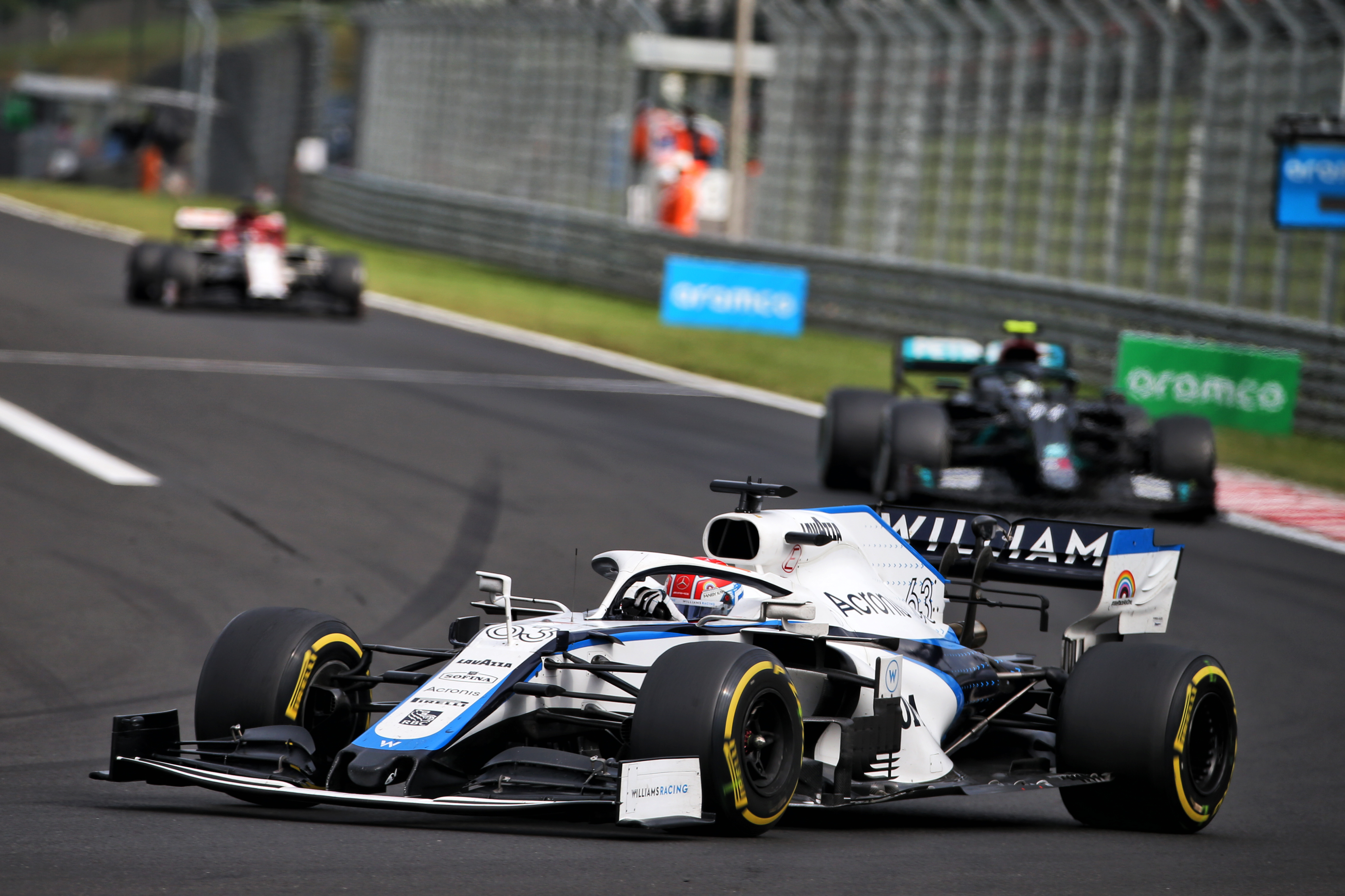 George Russell Williams Hungarian Grand Prix 2020