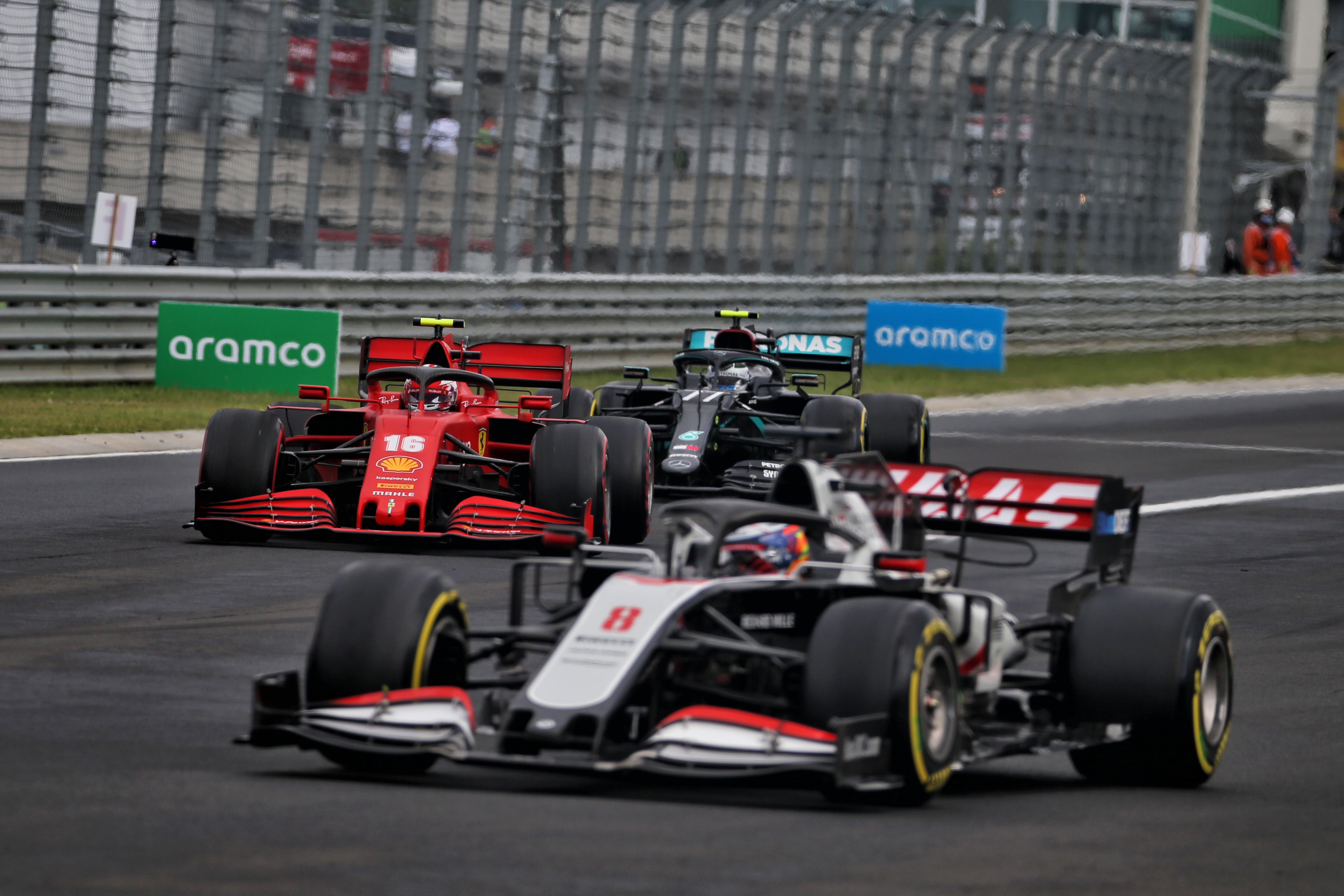Haas Ferrari Mercedes Hungarian Grand Prix 2020
