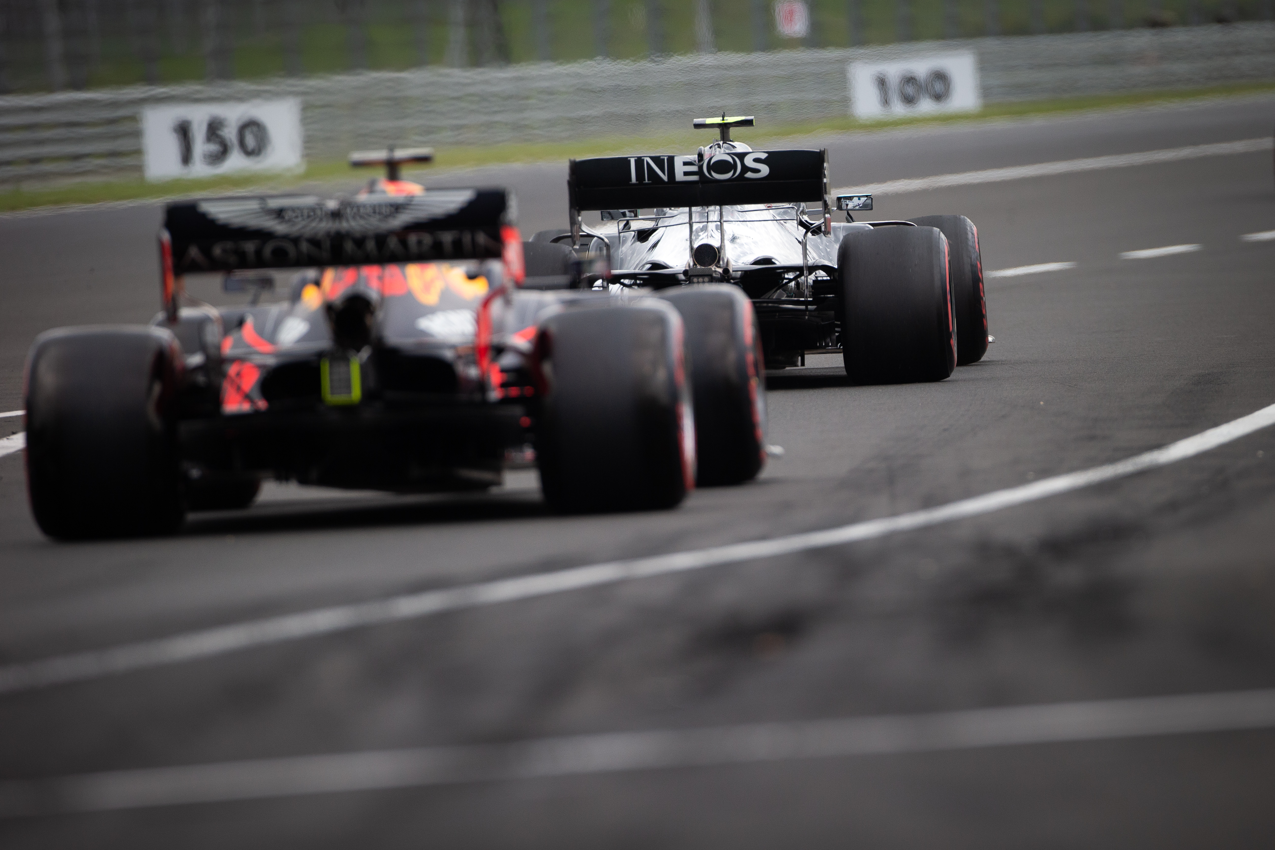 Mercedes Red Bull Hungarian Grand Prix 2020