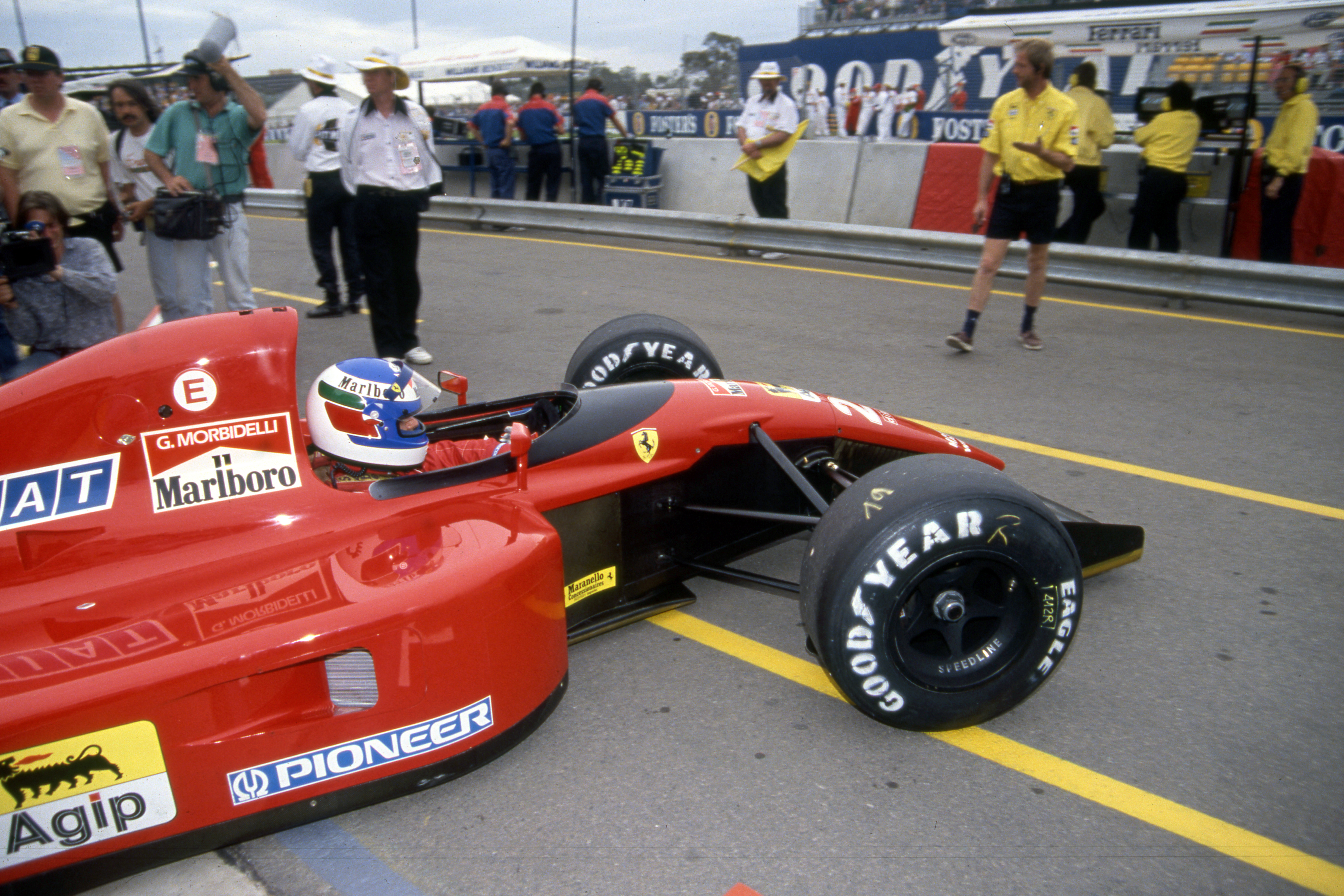 Gianni Morbidelli Ferrari 1991