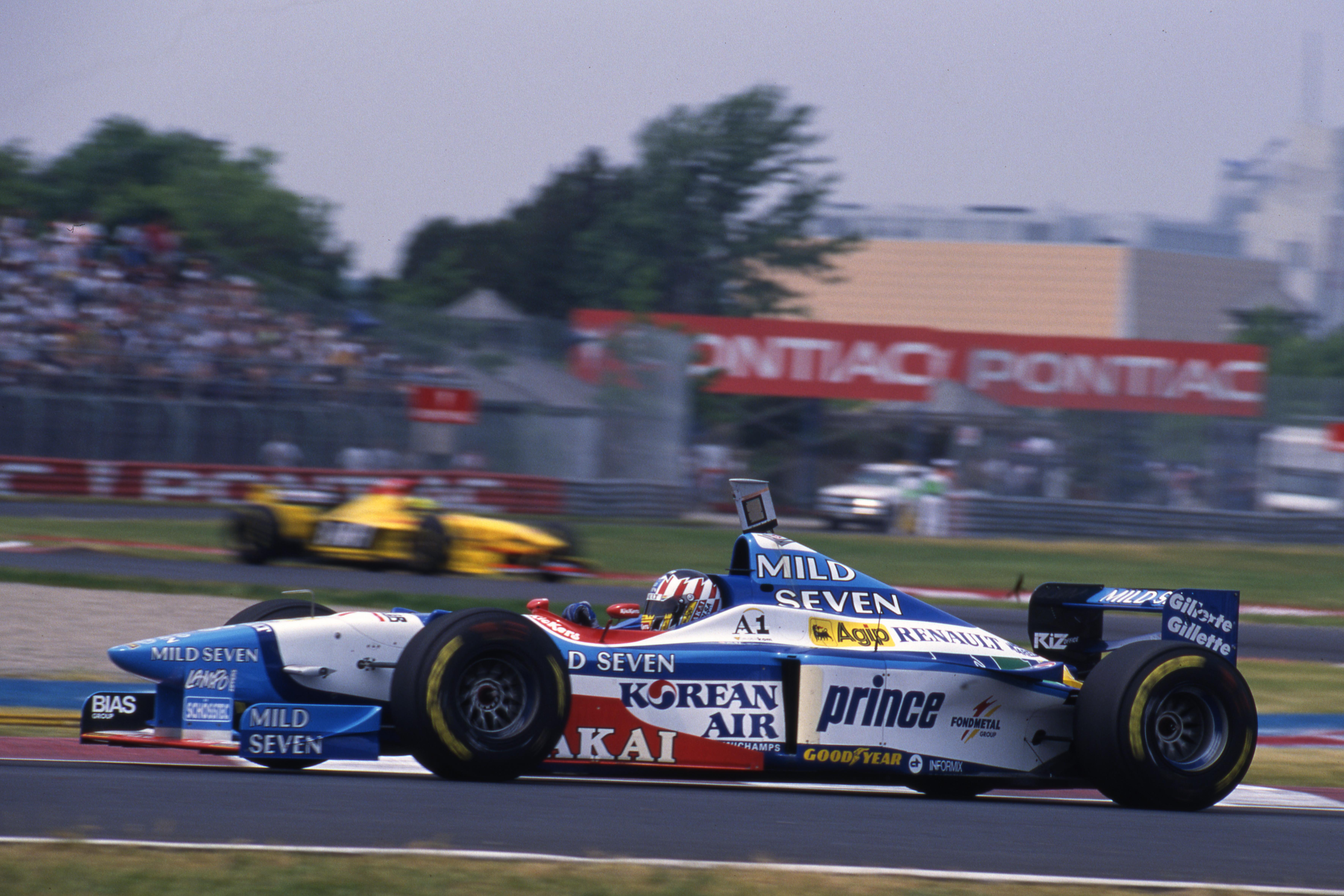 Alex Wurz Benetton 1997