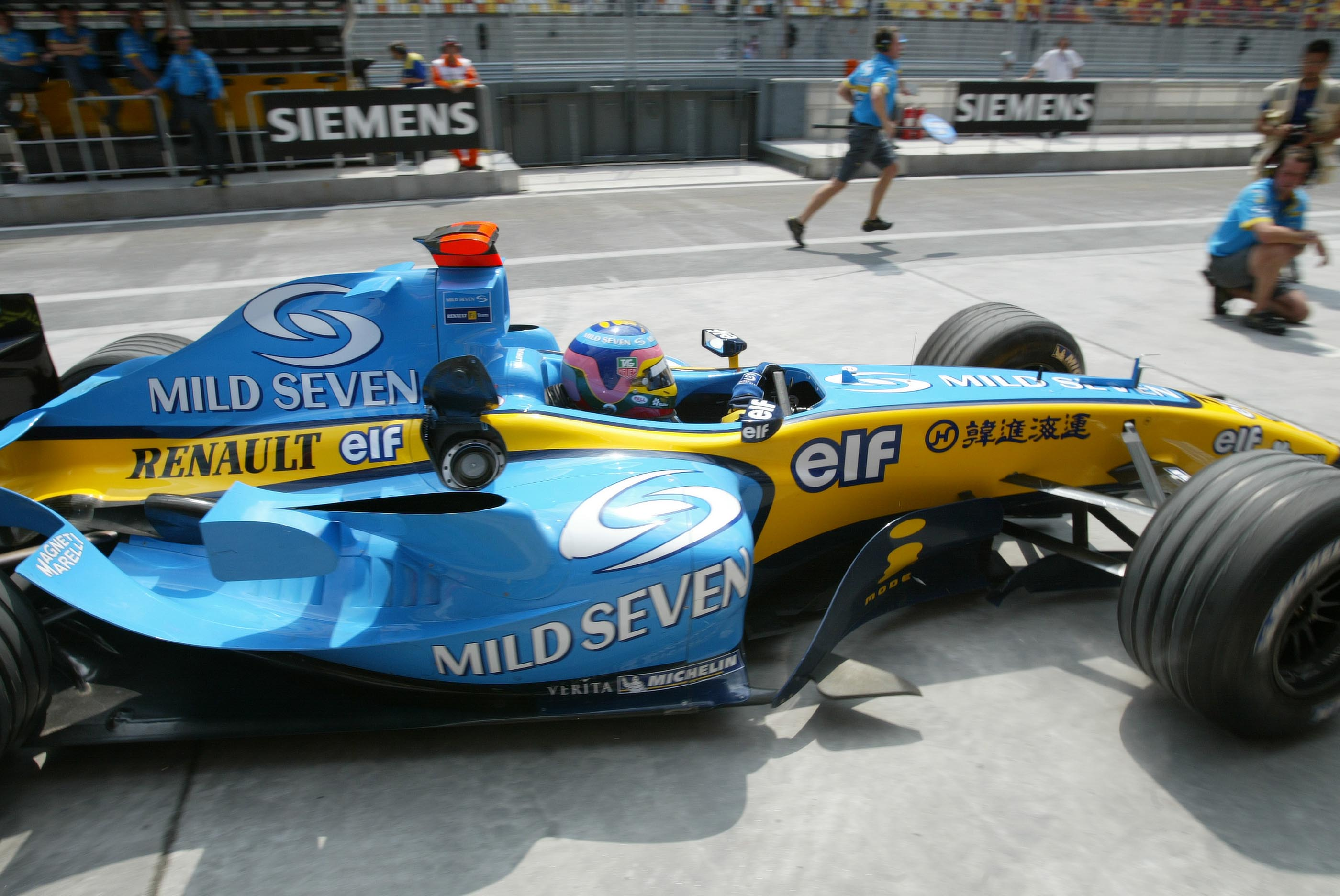 Jacques Villeneuve Renault 2004
