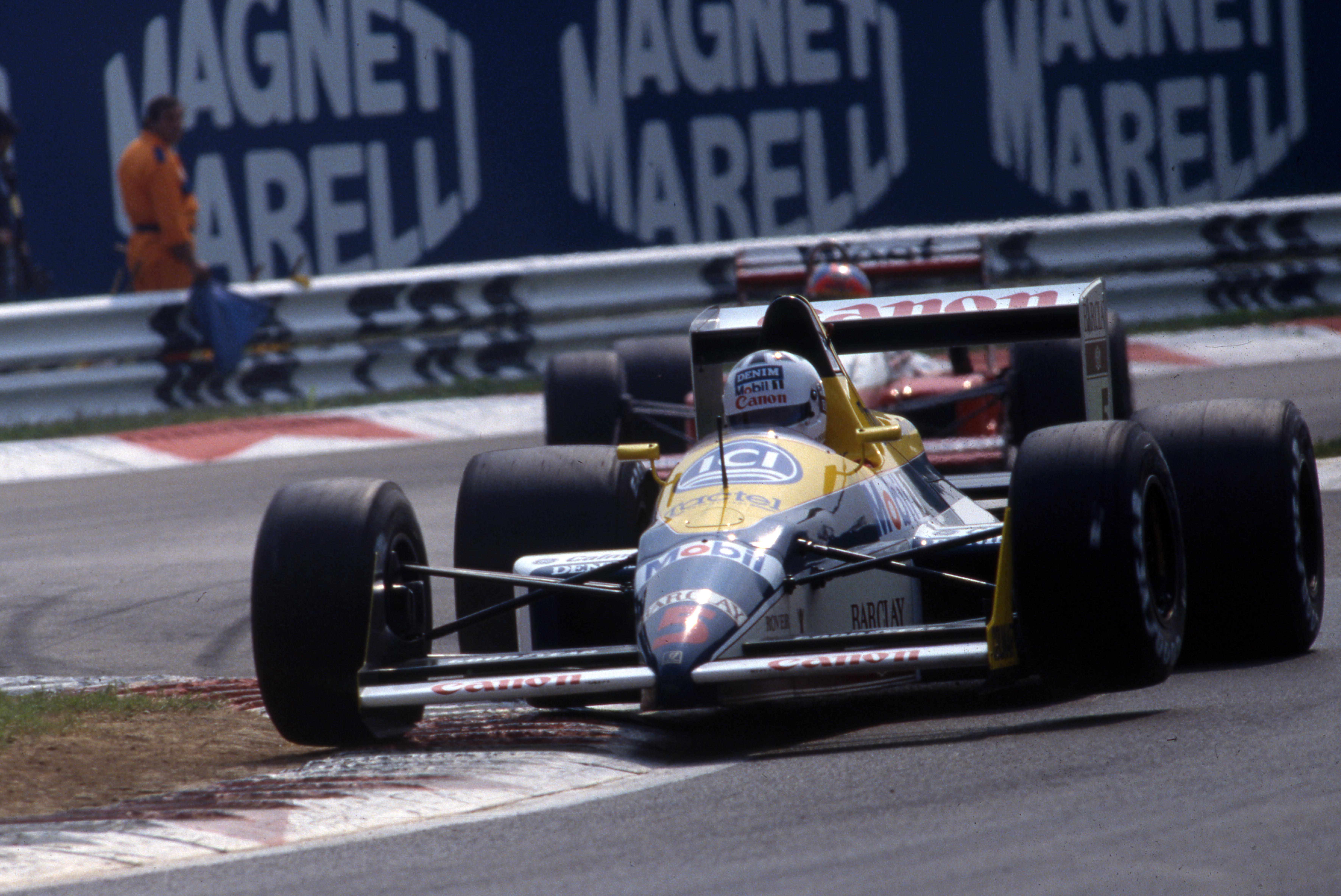 Jean-Louis Schlesser Williams 1988