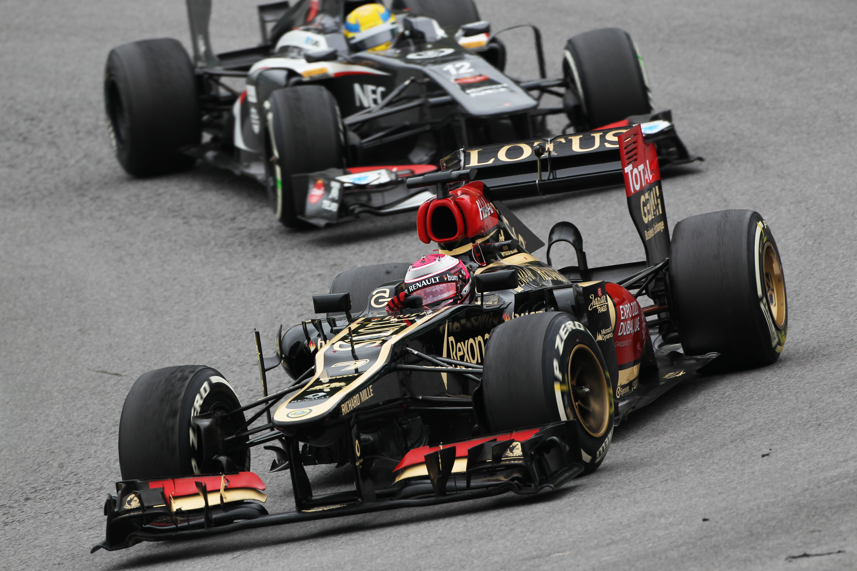 Heikki Kovalainen Lotus 2013