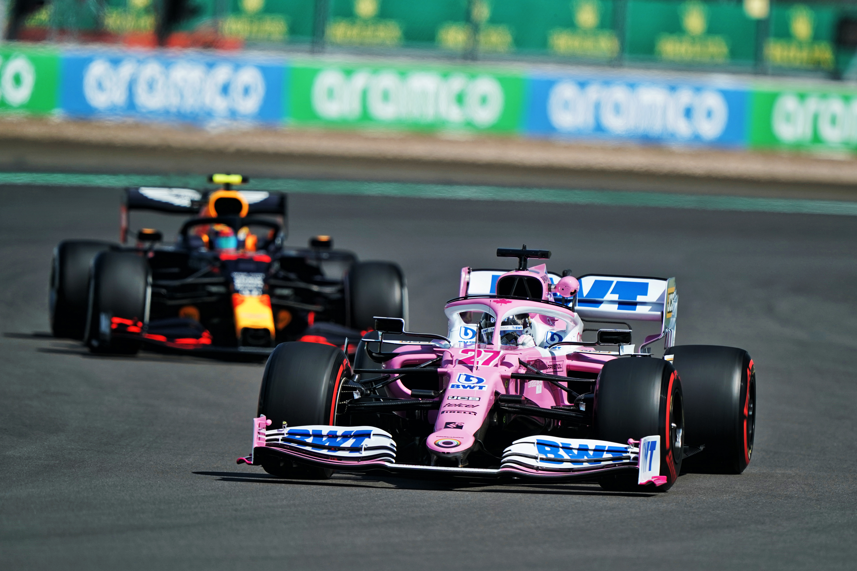 Nico Hulkenberg Racing Point British Grand Prix practice 2020 Silverstone