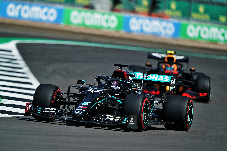 Lewis Hamilton Mercedes British Grand Prix Silverstone 2020
