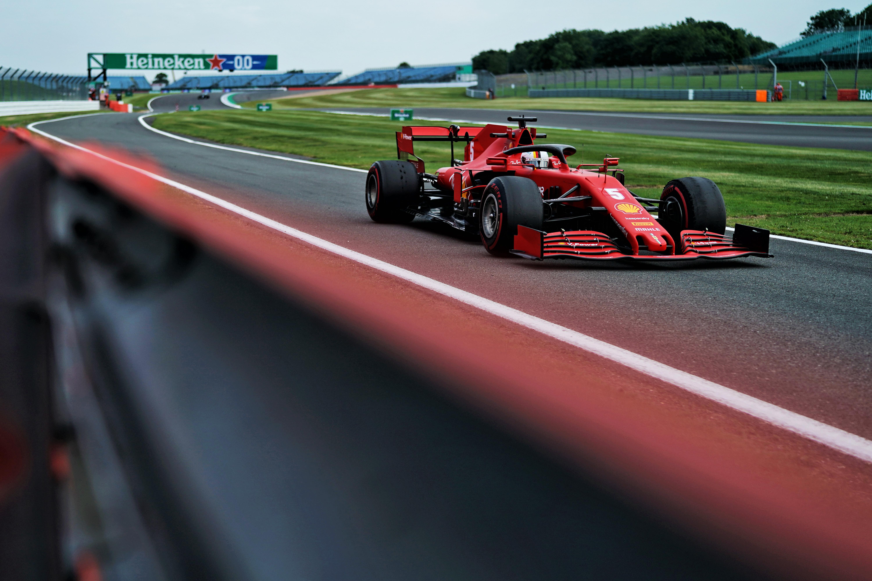 Charles Leclerc Ferrari British Grand Prix 2020 Silverstone