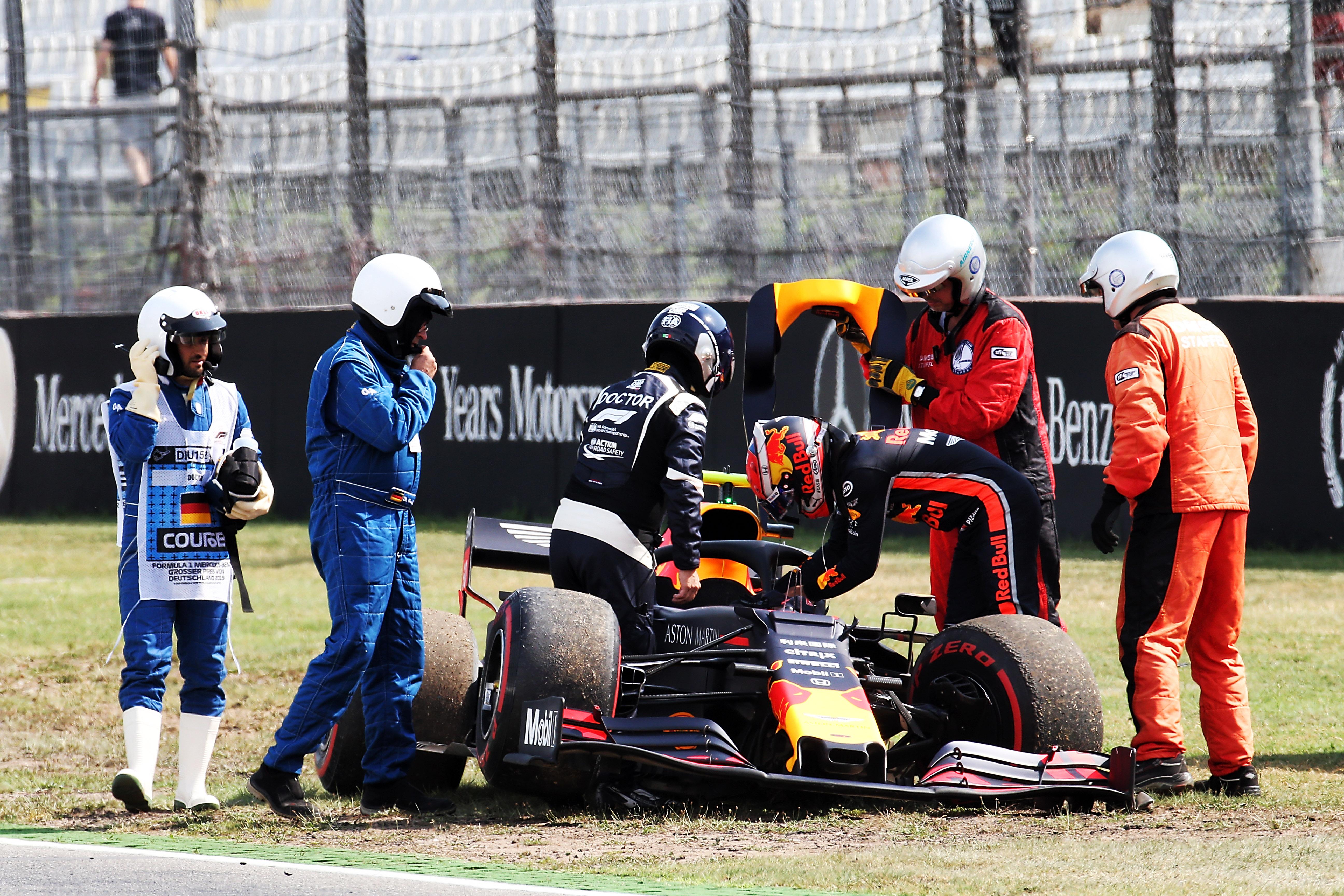 Pierre Gasly Red Bull crash 2019