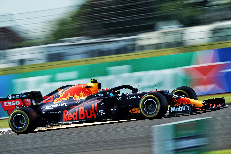 Alex Albon Red Bull British Grand Prix practice 2020