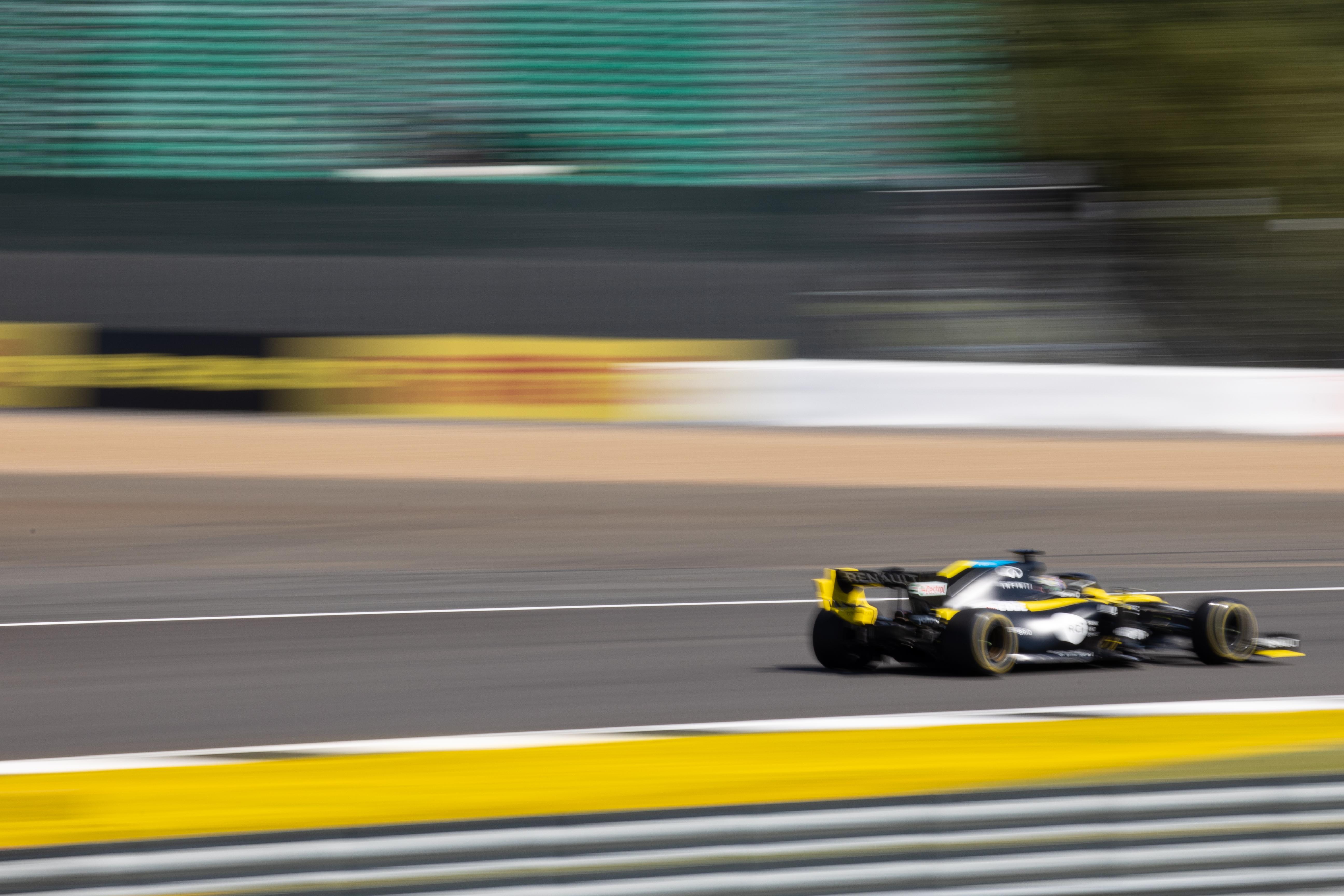 Daniel Ricciardo Renault British Grand Prix 2020 Silverstone