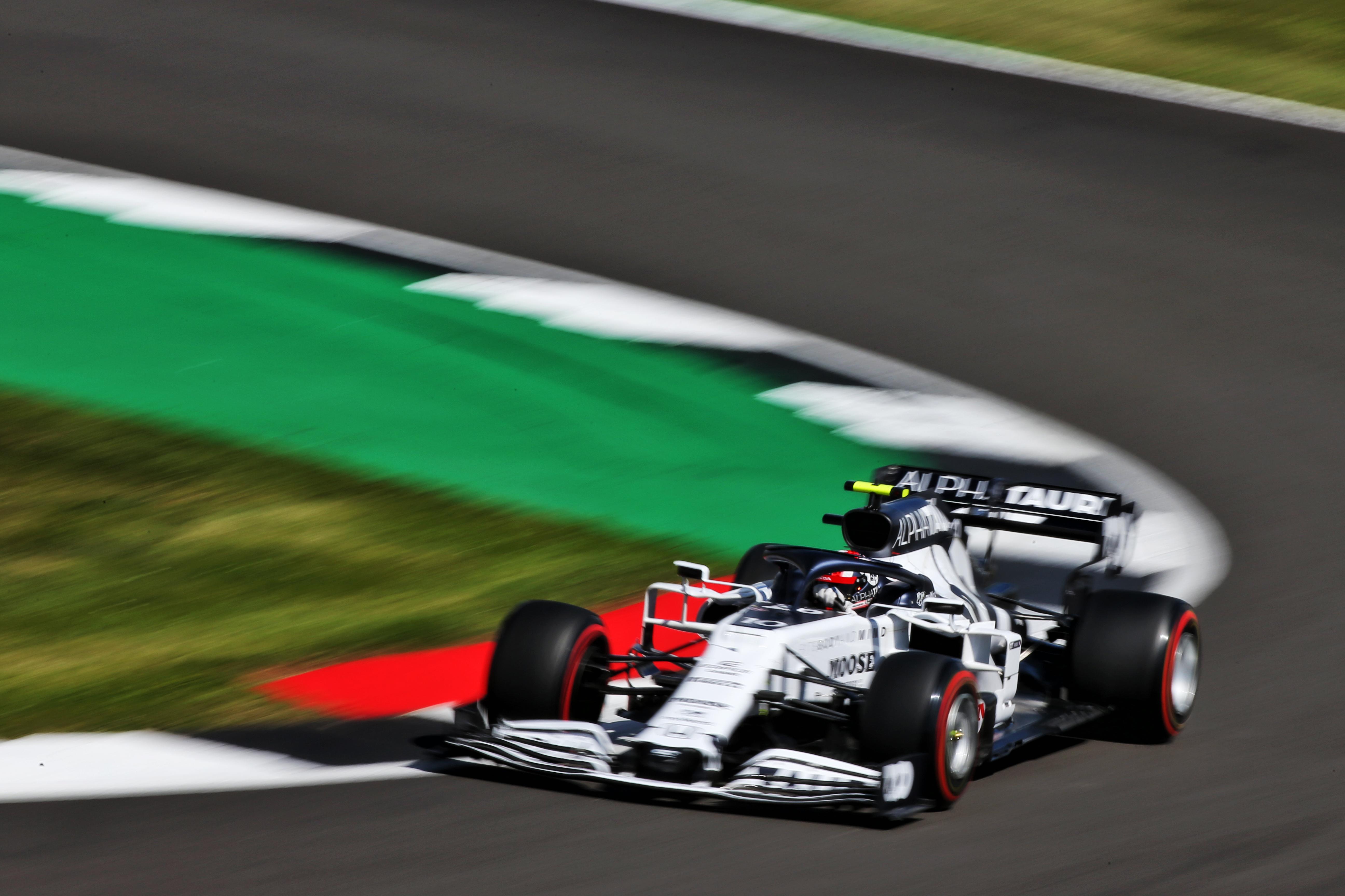 Pierre Gasly AlphaTauri British Grand Prix 2020 Silverstone