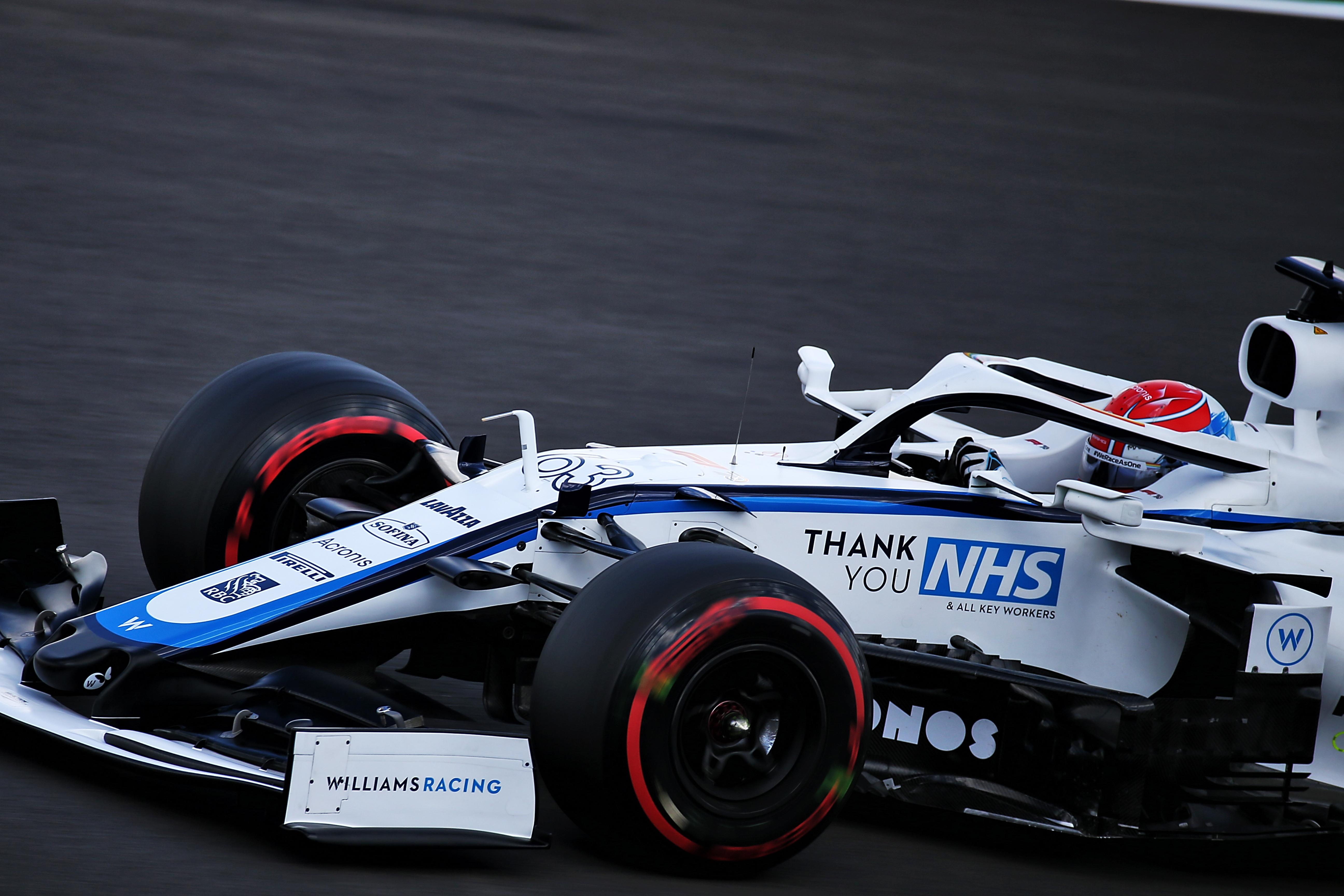 George Russell Williams British Grand Prix 2020 Silverstone
