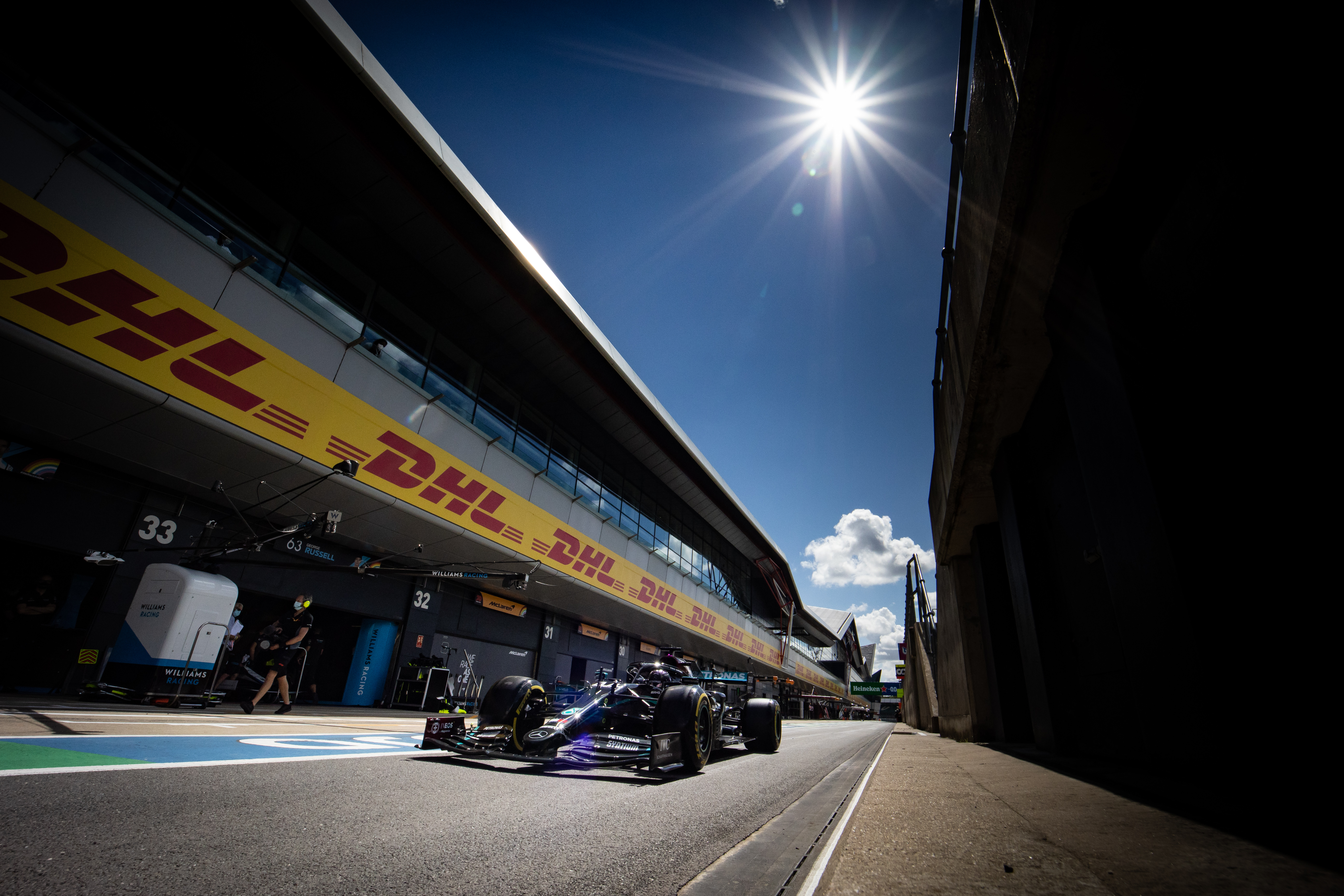 Lewis Hamilton Mercedes British Grand Prix 2020 Silverstone