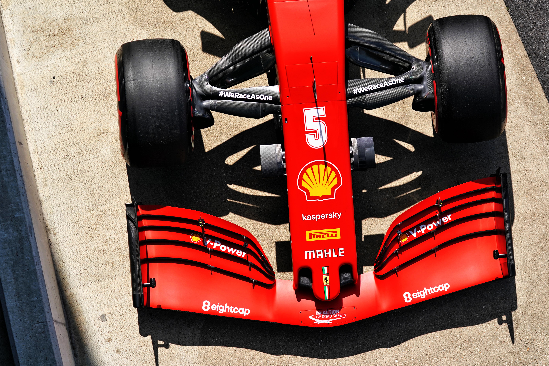 Motor Racing Formula One World Championship British Grand Prix Qualifying Day Silverstone, England