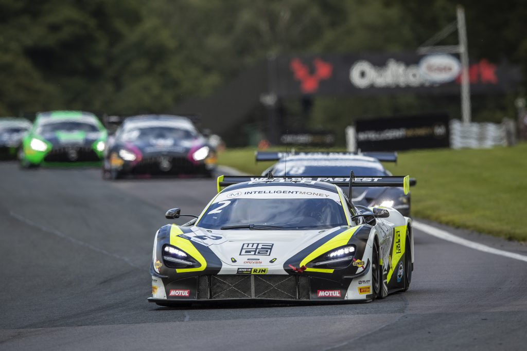 World's Fastest Gamer Baldwin wins on British GT debut - The Race