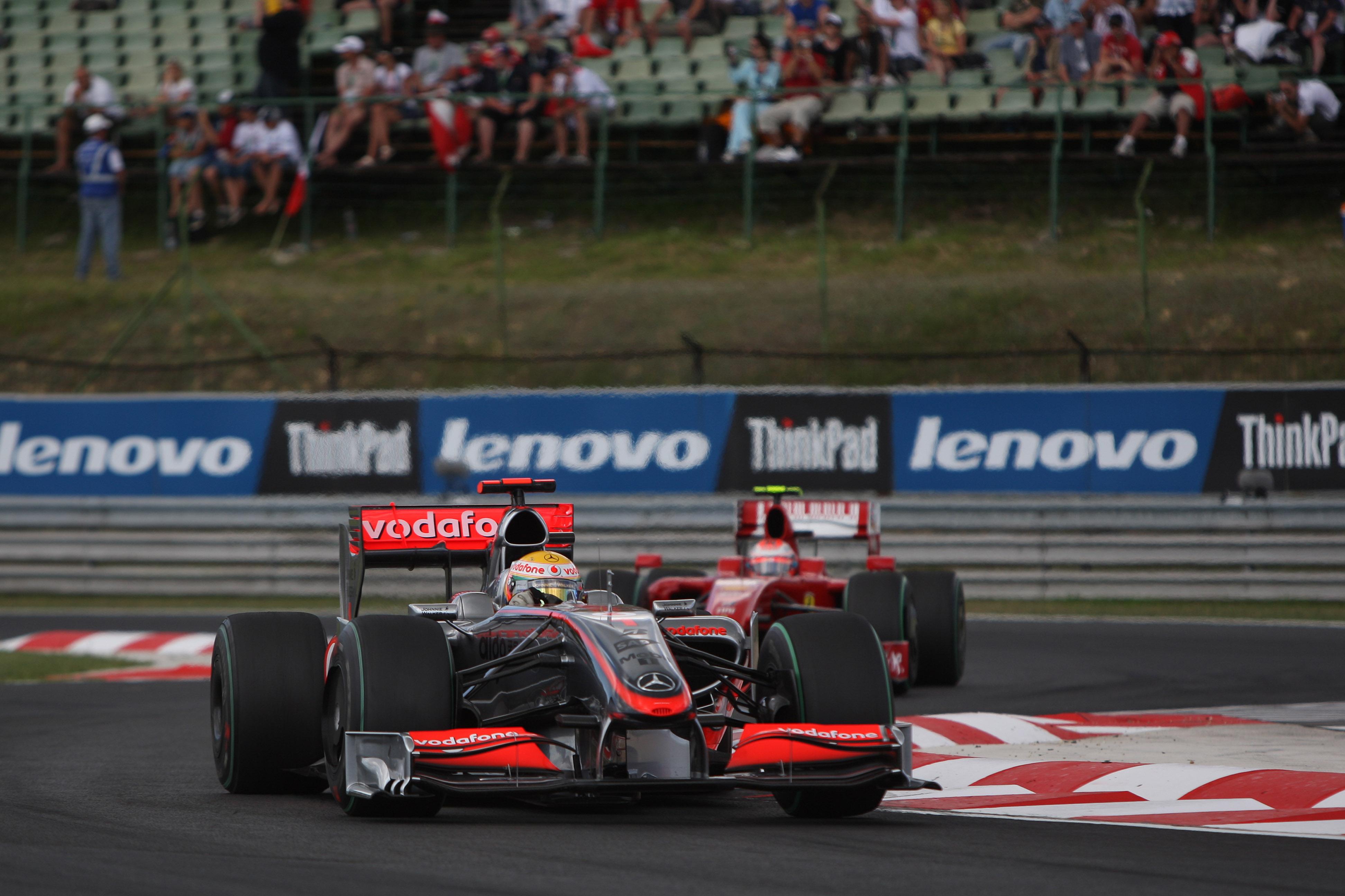 Lewis Hamilton McLaren Hungarian Grand Prix 2009