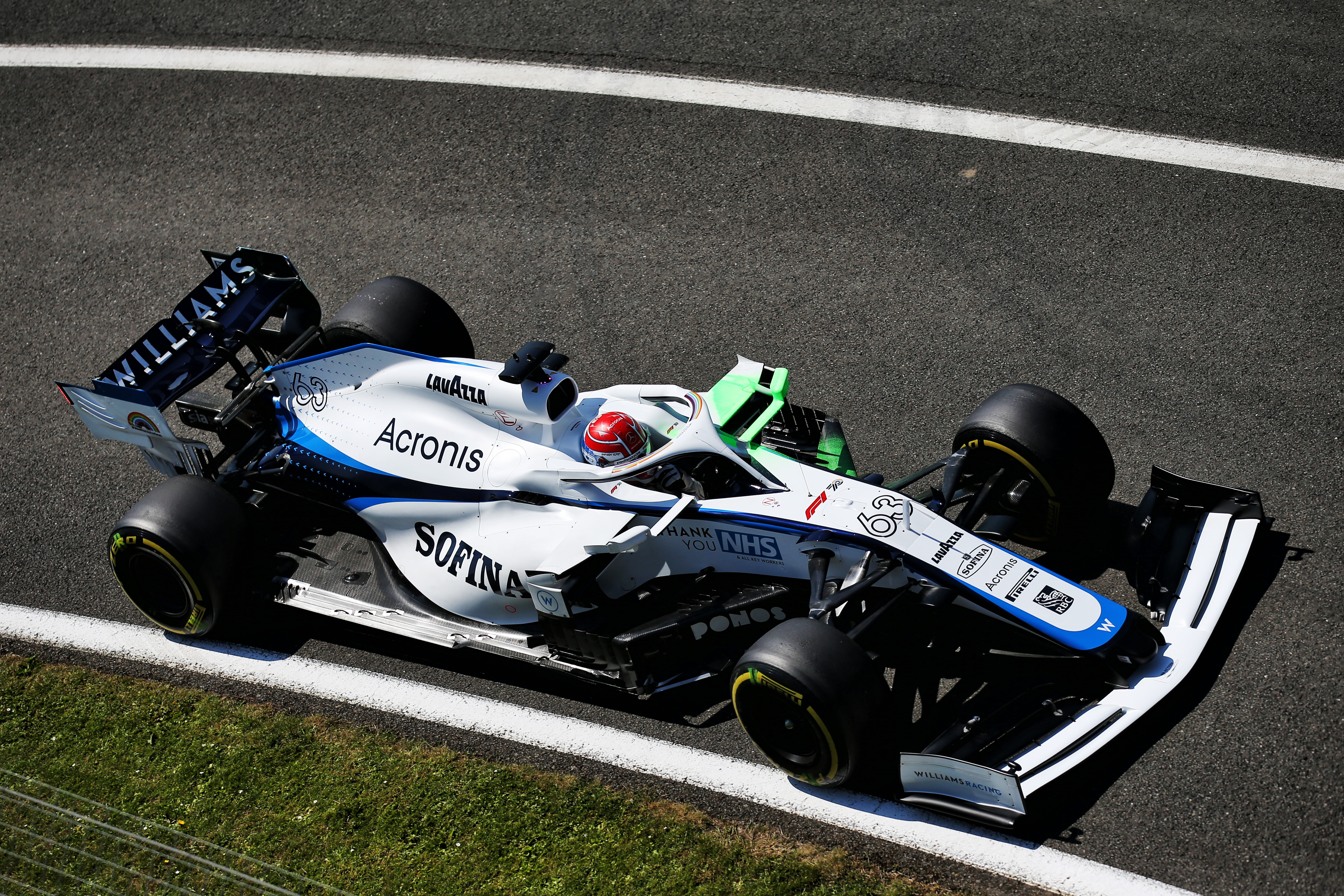 Motor Racing Formula One World Championship British Grand Prix Practice Day Silverstone, England