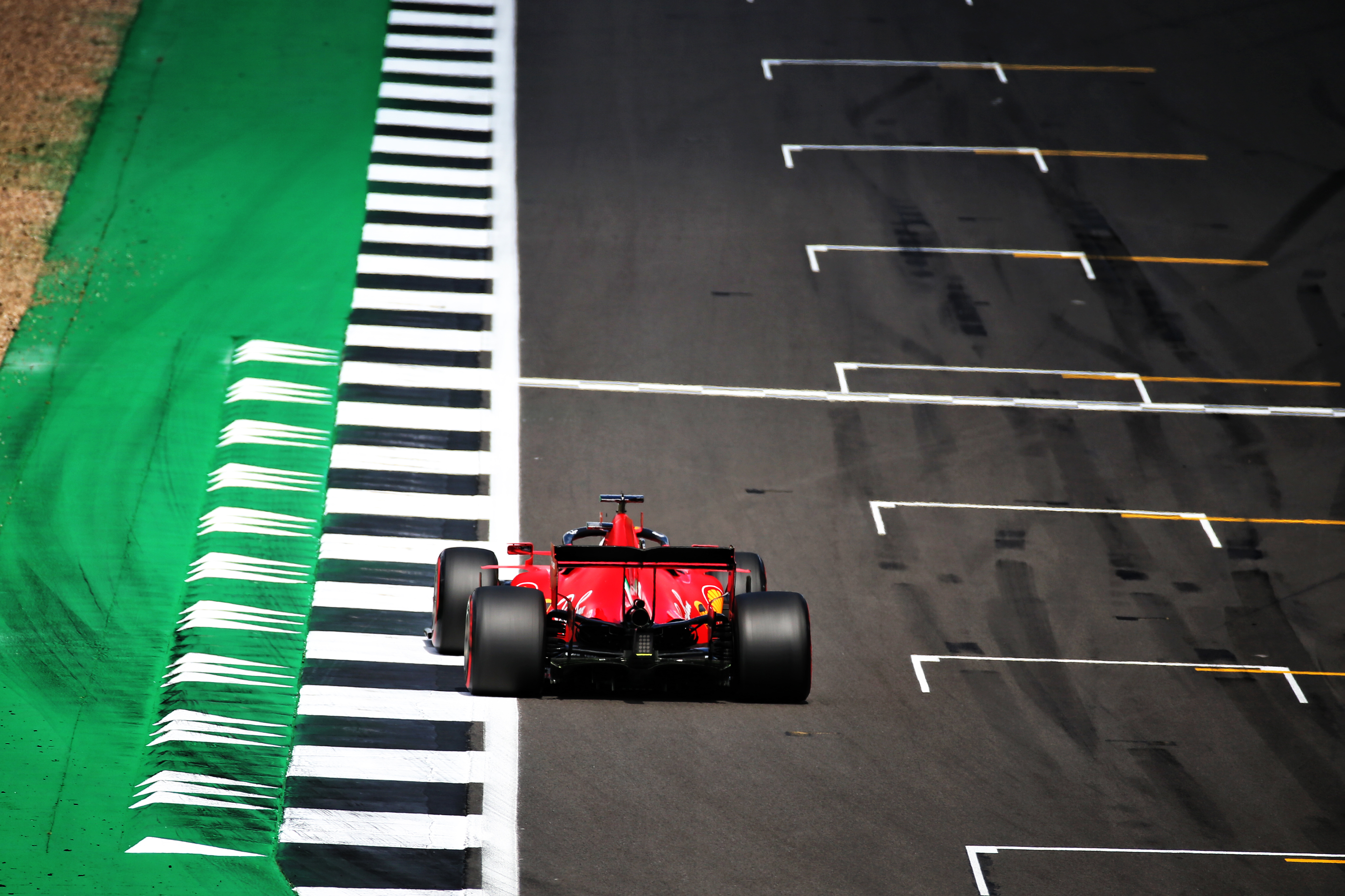 Sebastian Vettel Ferrari British Grand Prix 2020 Silverstone
