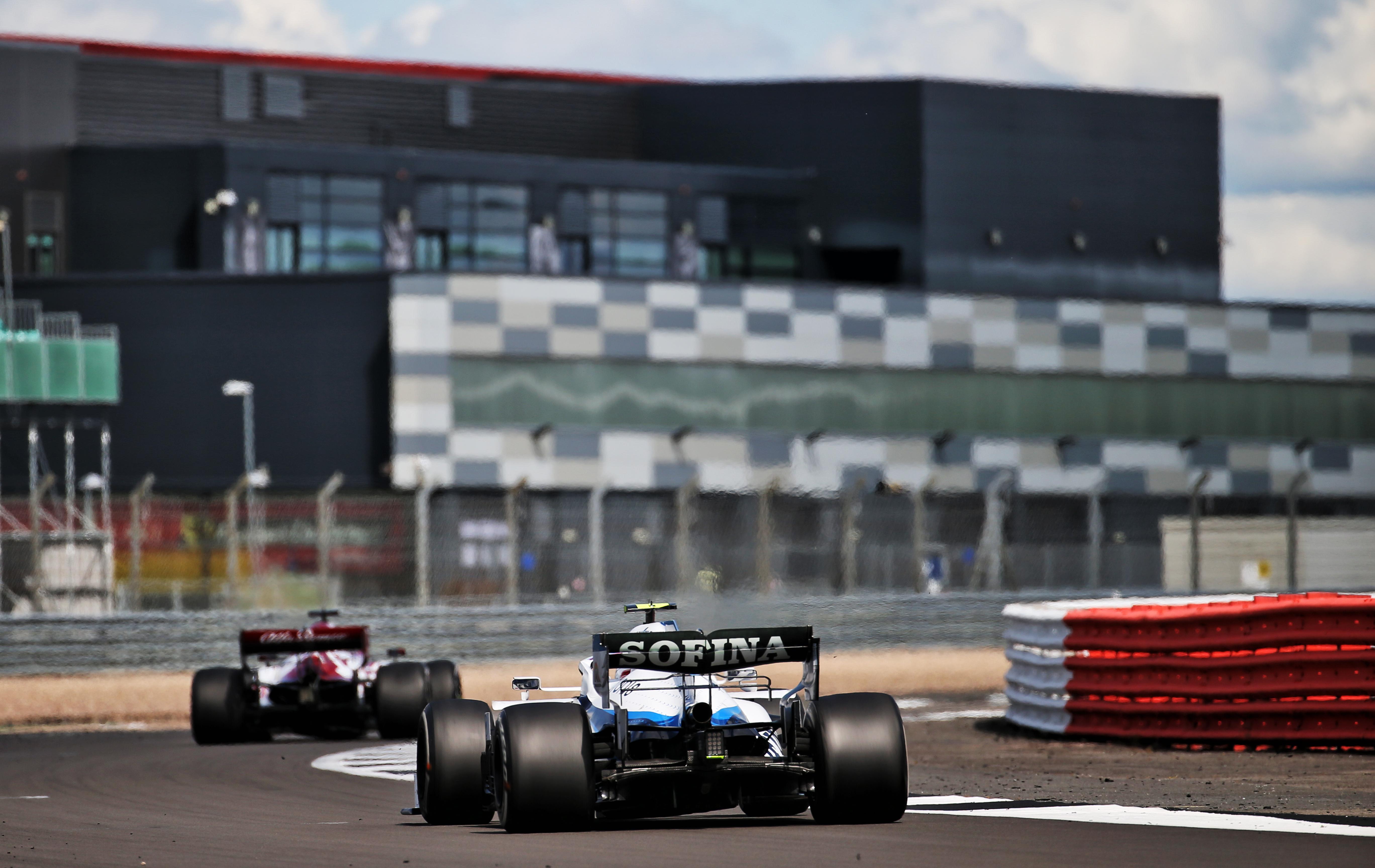 Nicholas Latifi Williams British Grand Prix 2020 Silverstone