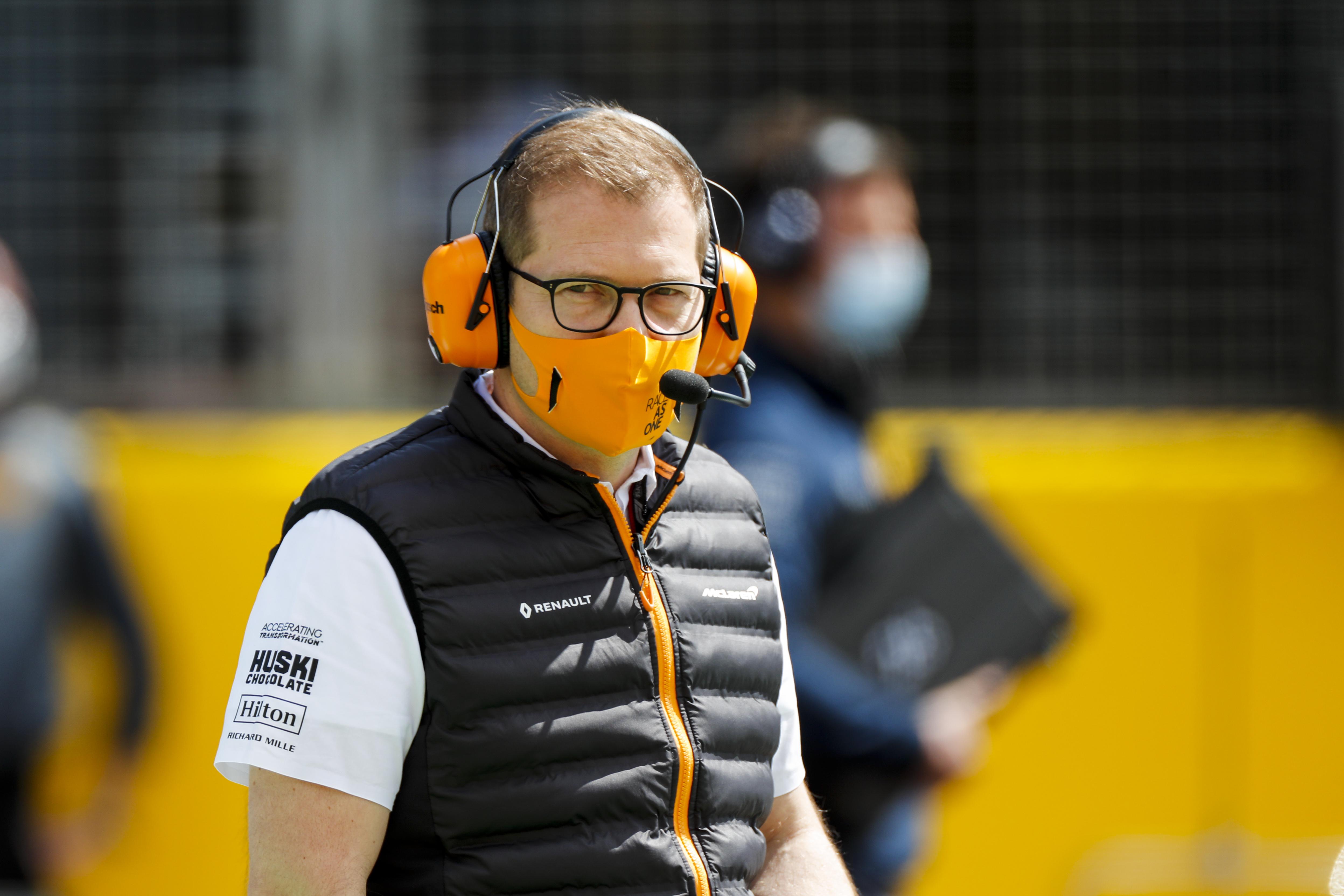 Andreas Seidl McLaren F1 Silverstone 2020
