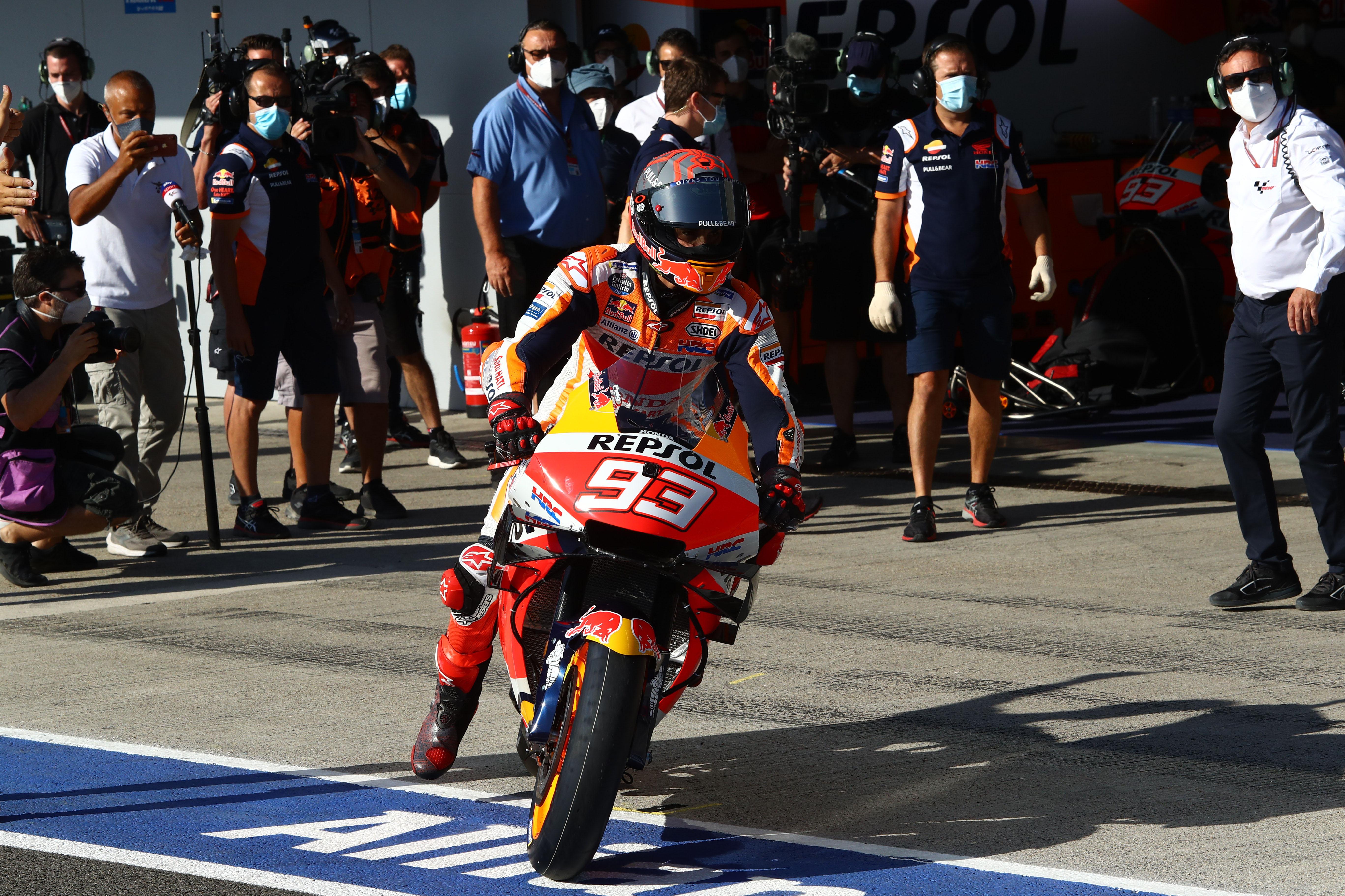 Marc Marquez Honda Jerez MotoGP 2020