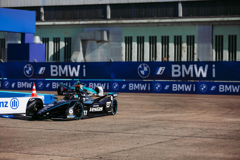 Nyck de Vries Formula E Mercedes Berlin Tempelhof 2020