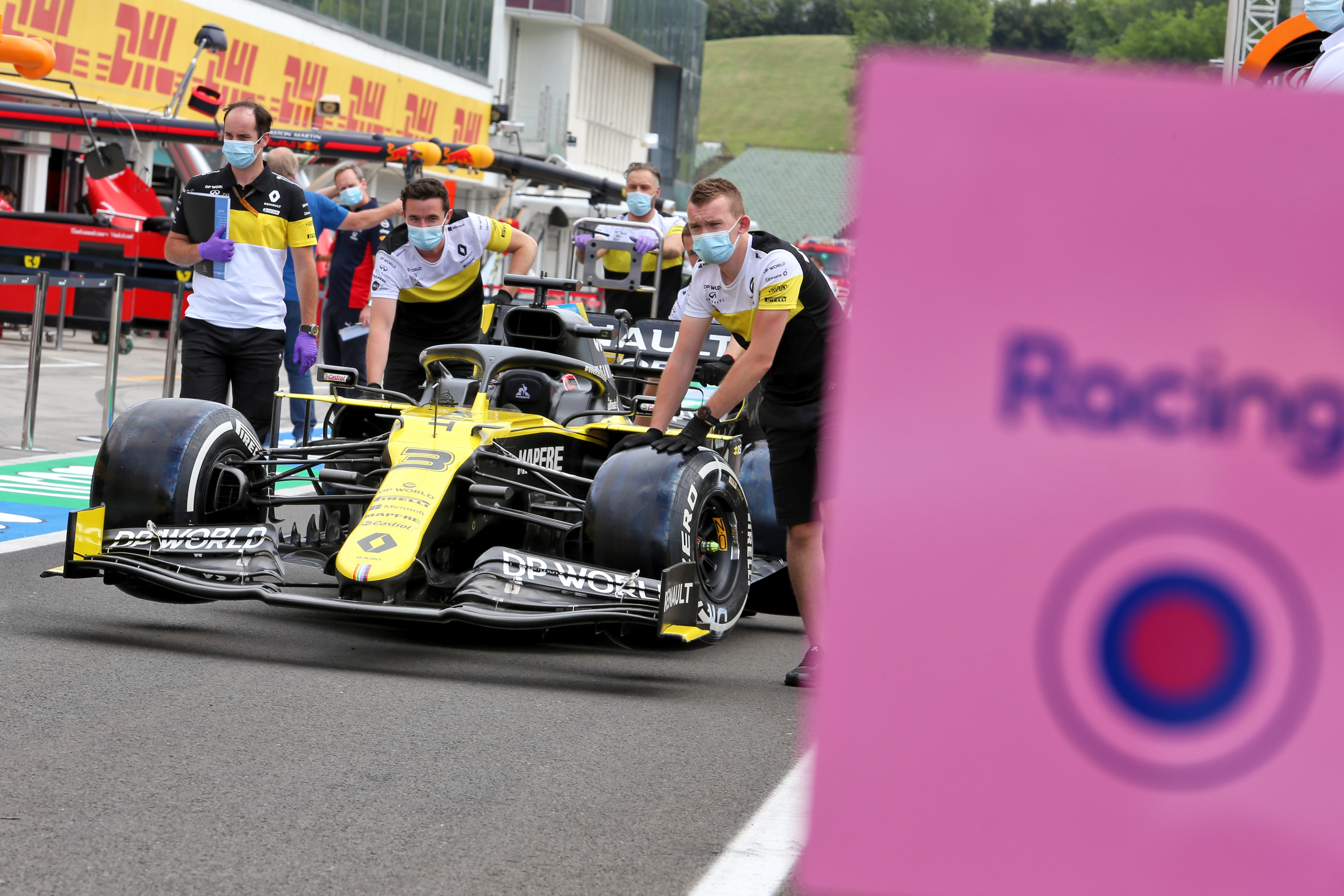 Racing Point Renault F1 Silverstone 2020
