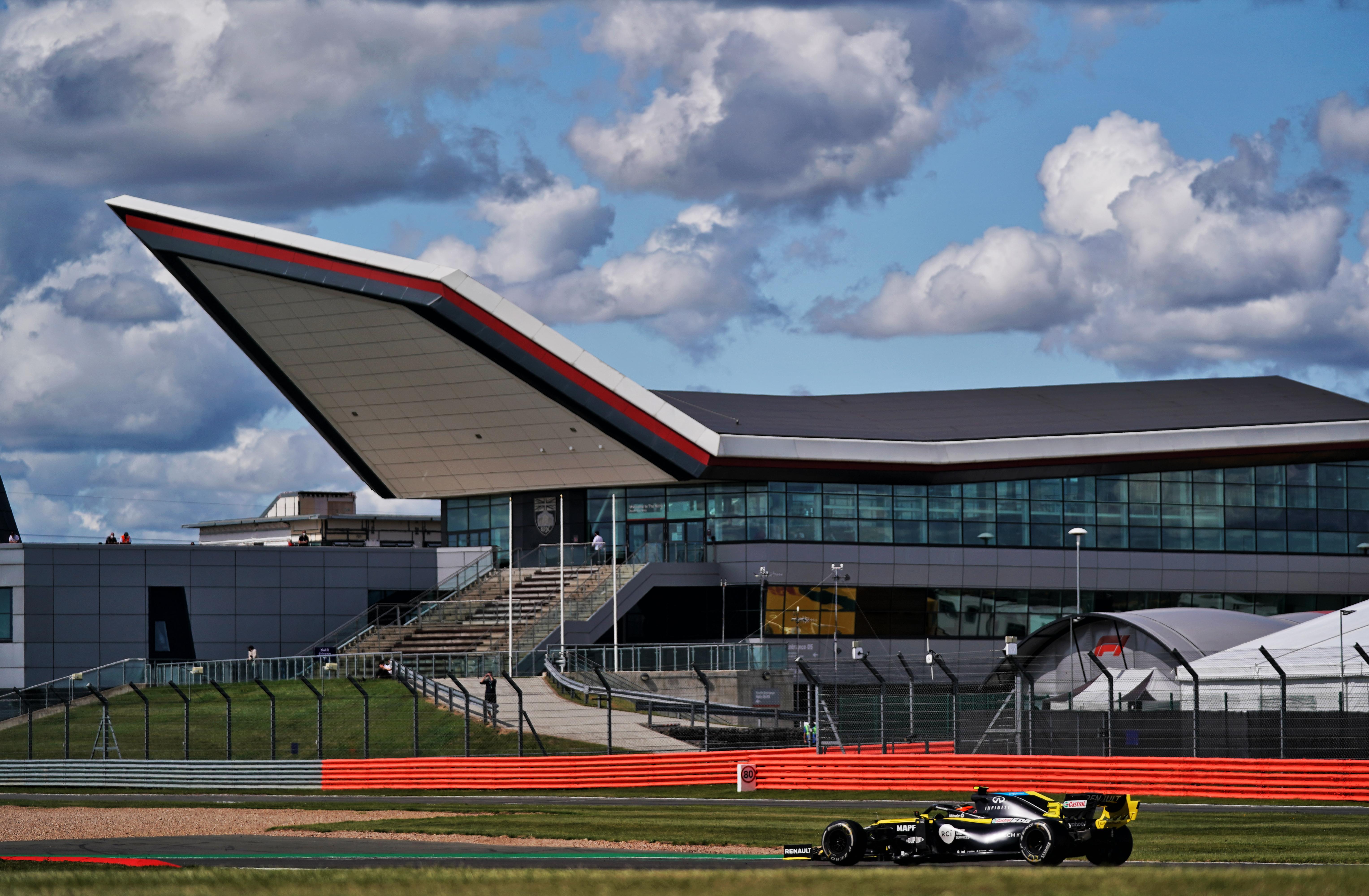 Renault F1 Silverstone 2020