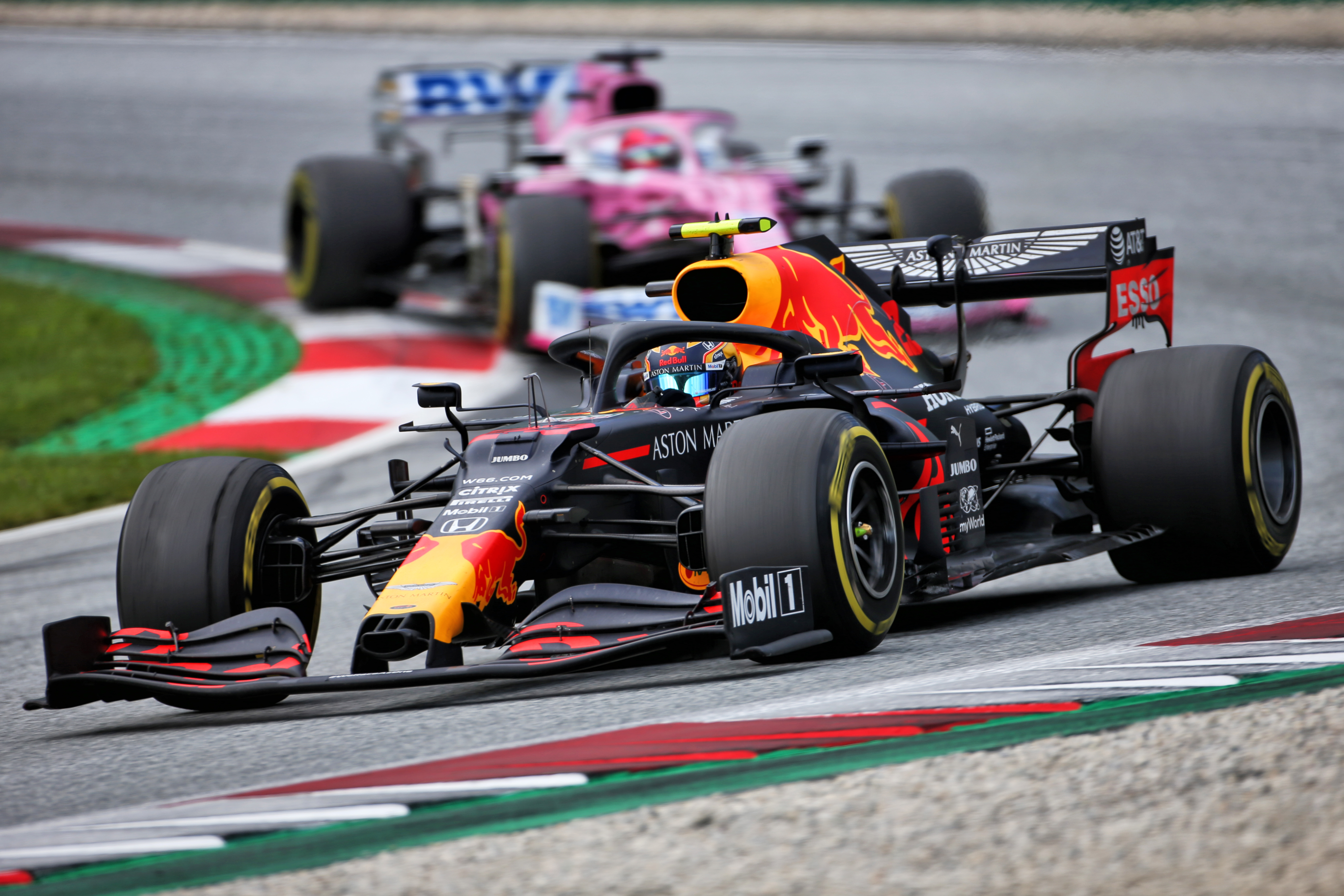 Alex Albon Red Bull Austrian Grand Prix 2020
