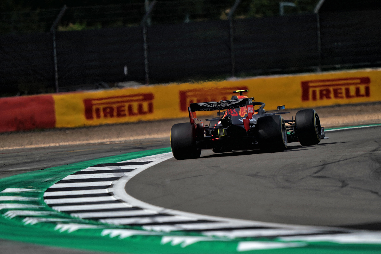 Alex Albon Red Bull British Grand Prix 2020 Silverstone