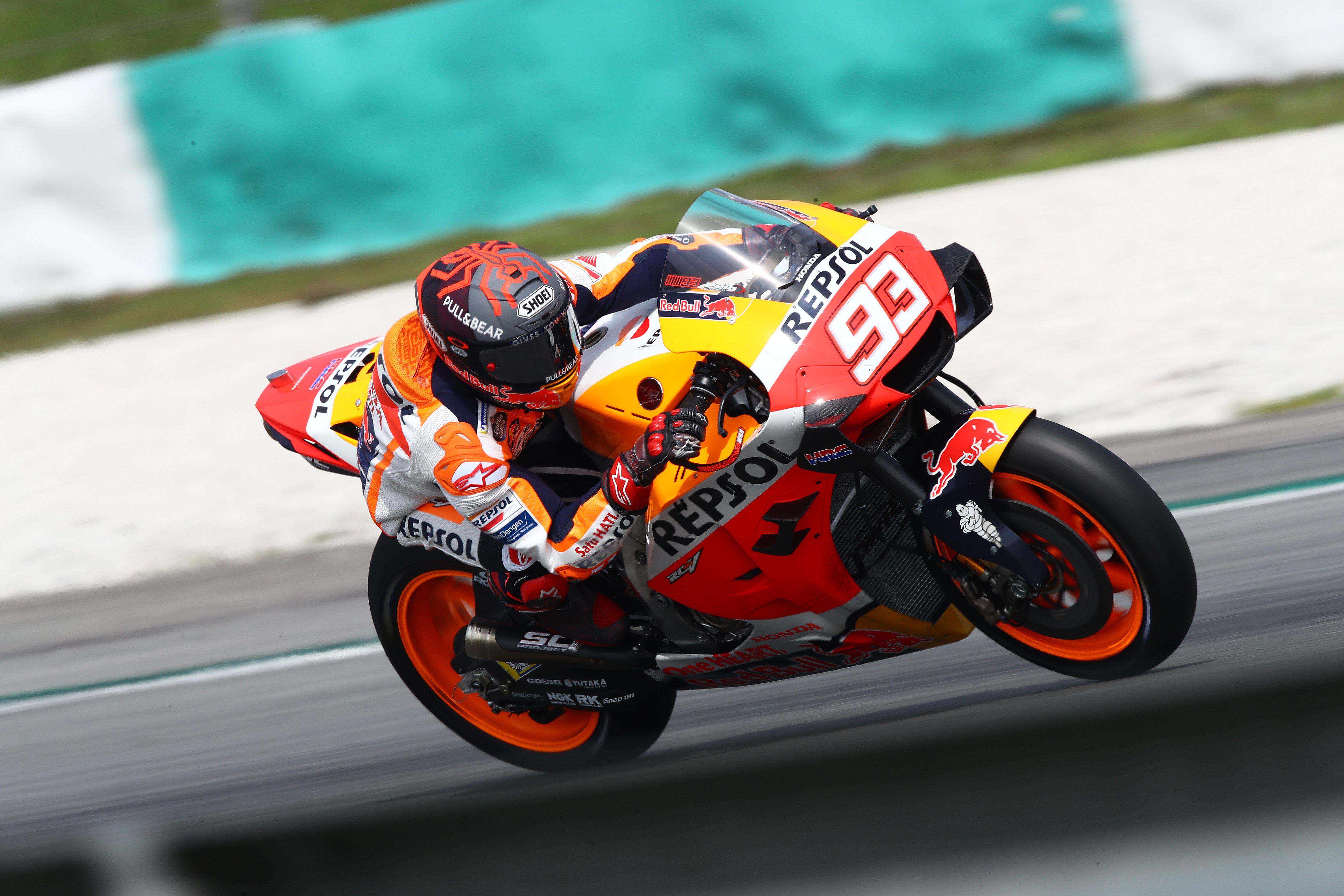 Marc Marquez Honda MotoGP testing 2020