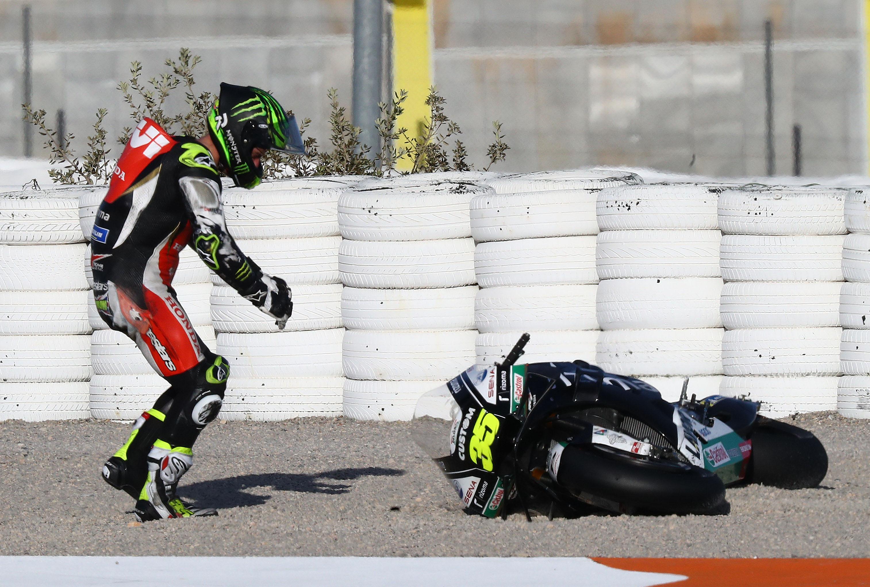 Cal Crutchlow LCR Honda crash MotoGP 2019