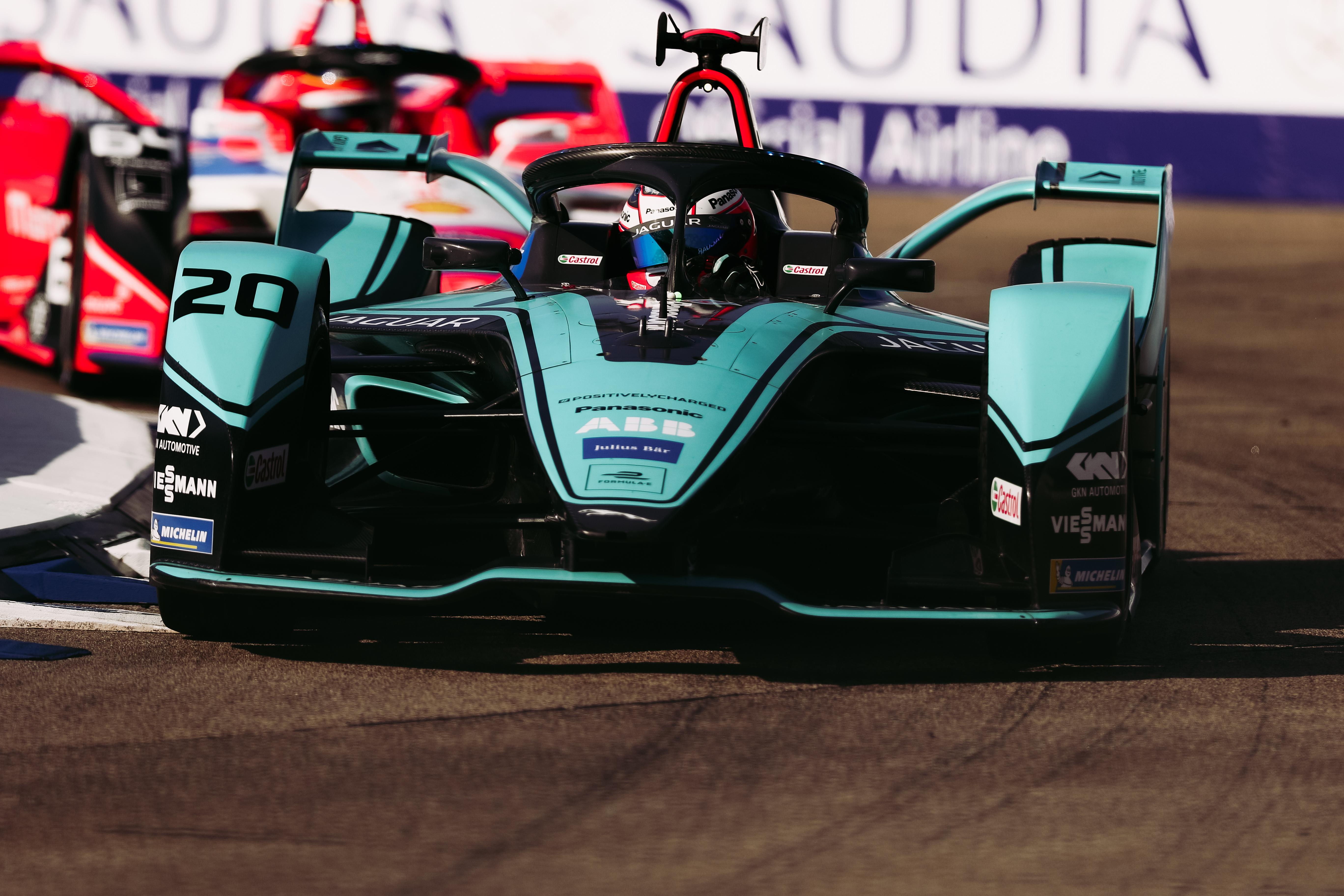 Mitch Evans Jaguar Berlin Formula E 2020