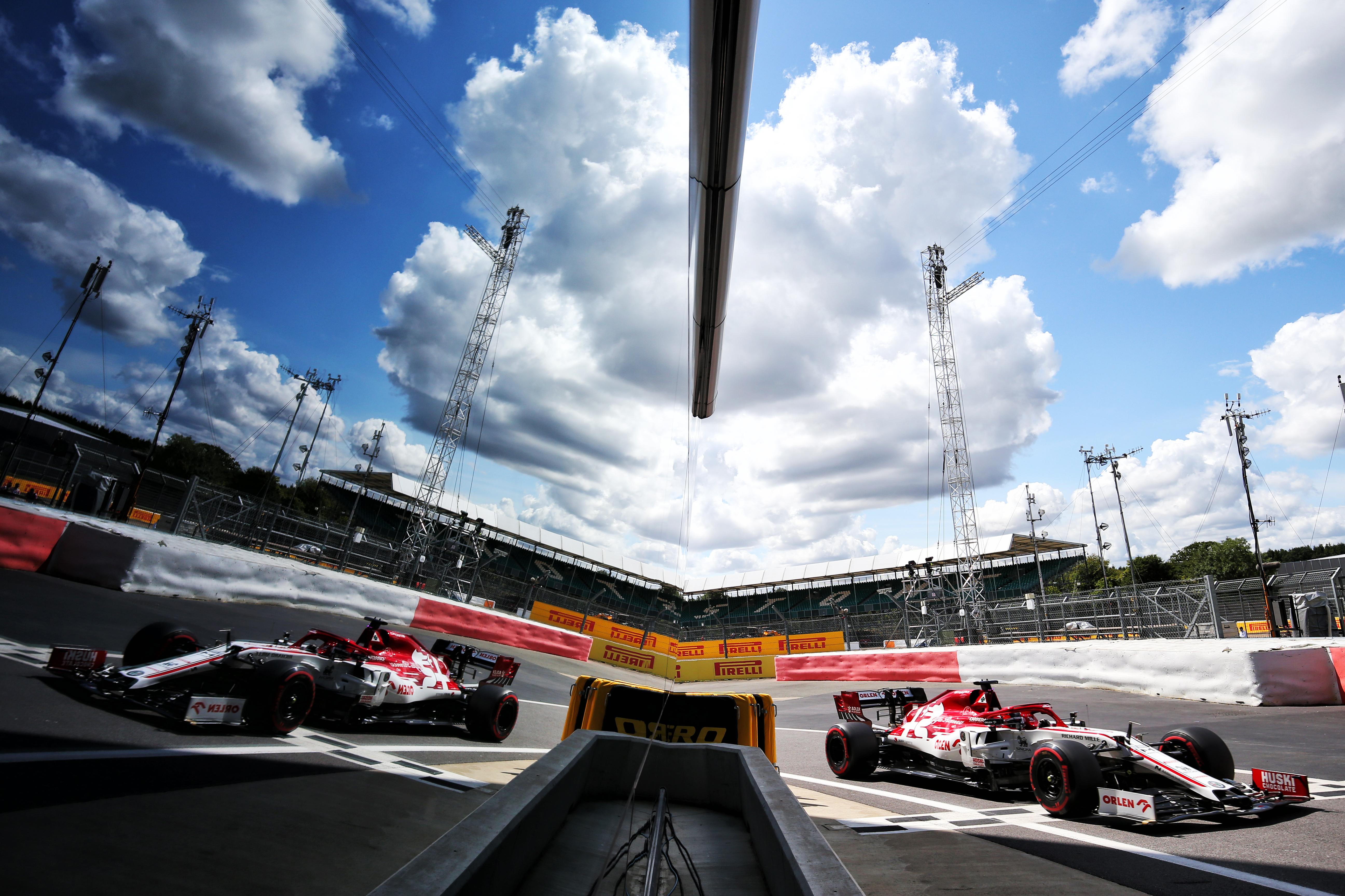 Kimi Raikkonen Alfa Romeo British Grand Prix 2020 Silverstone