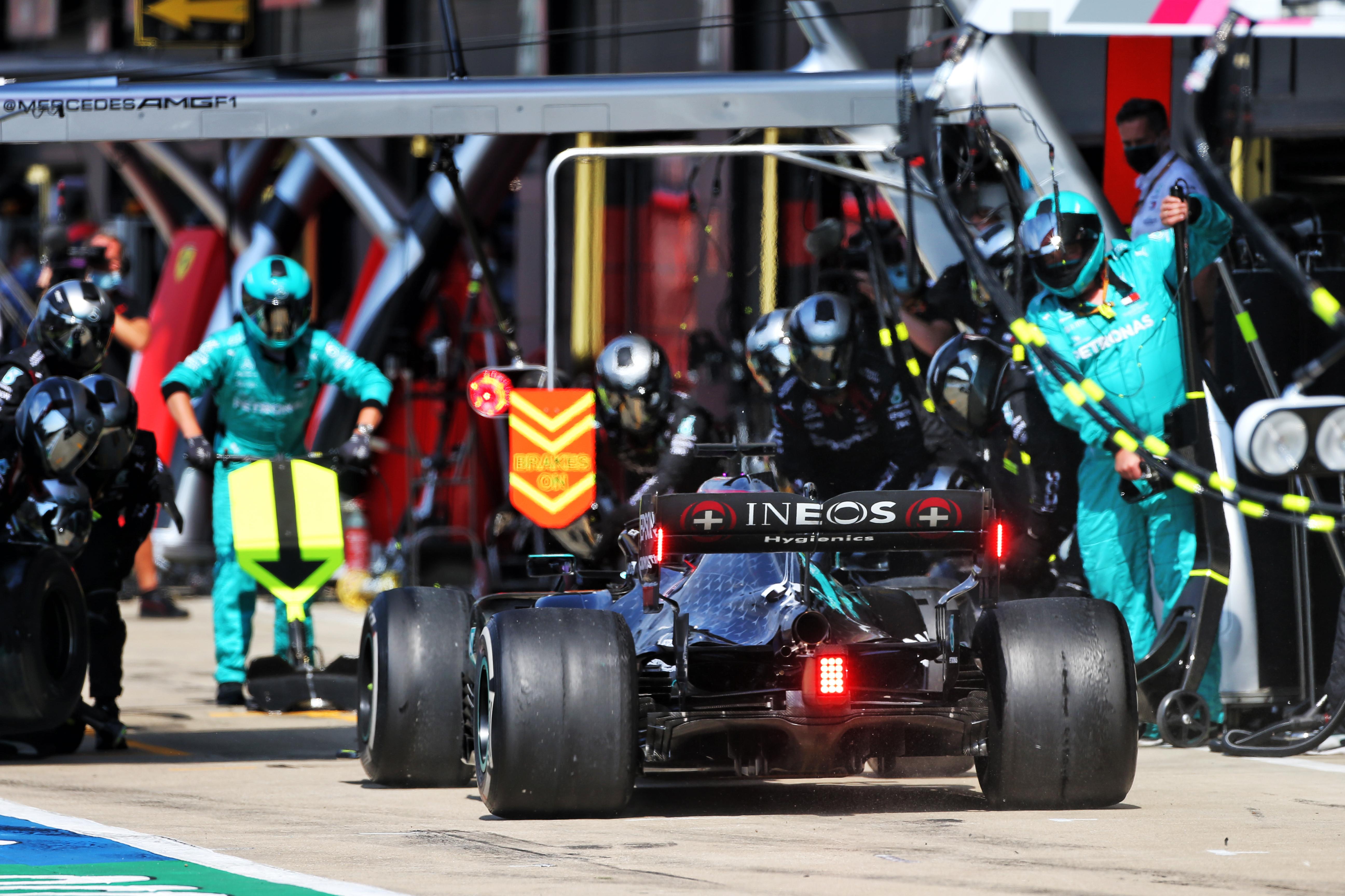 Lewis Hamilton Mercedes Anniversary Grand Prix