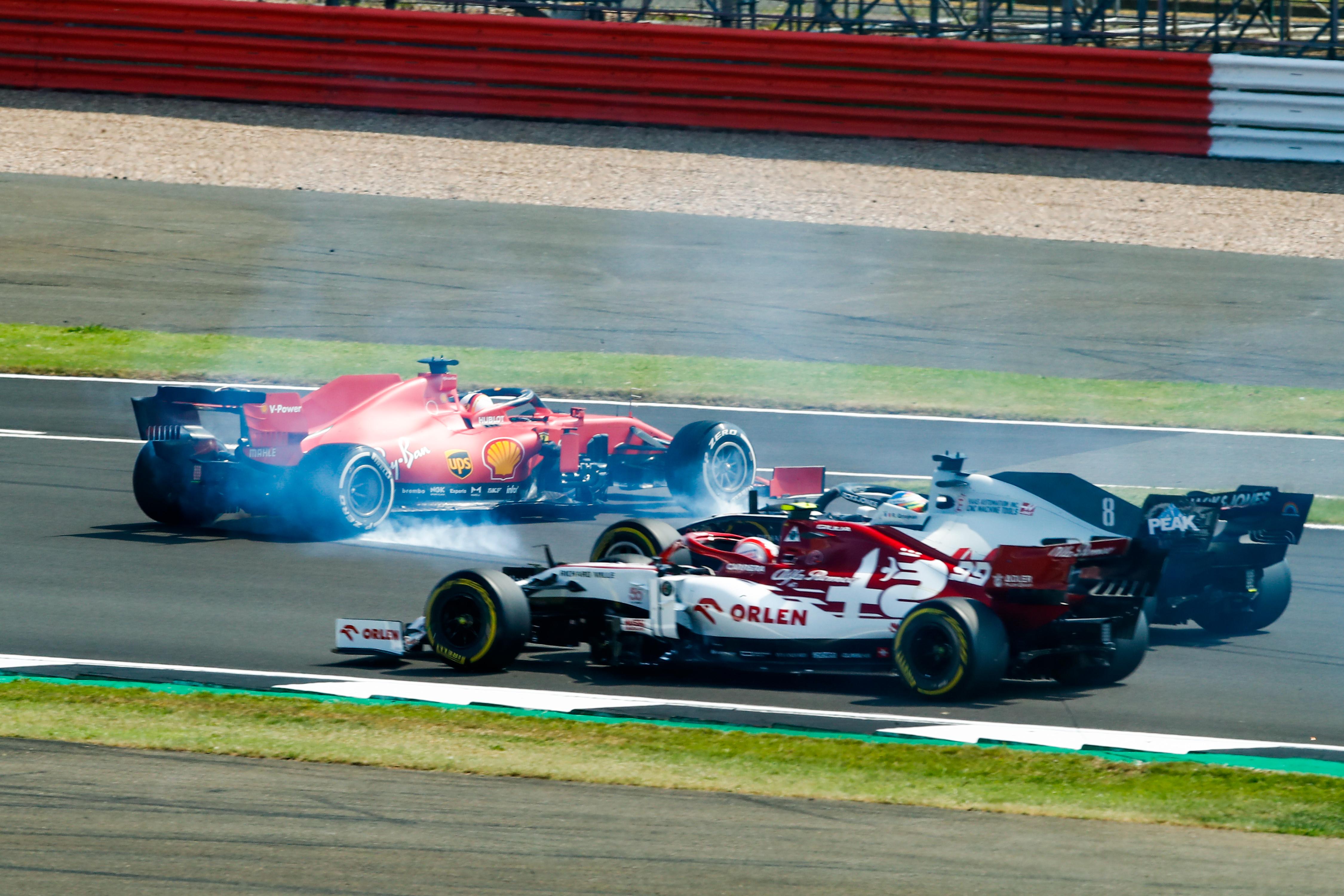 Sebastian Vettel Ferrari F1 2020