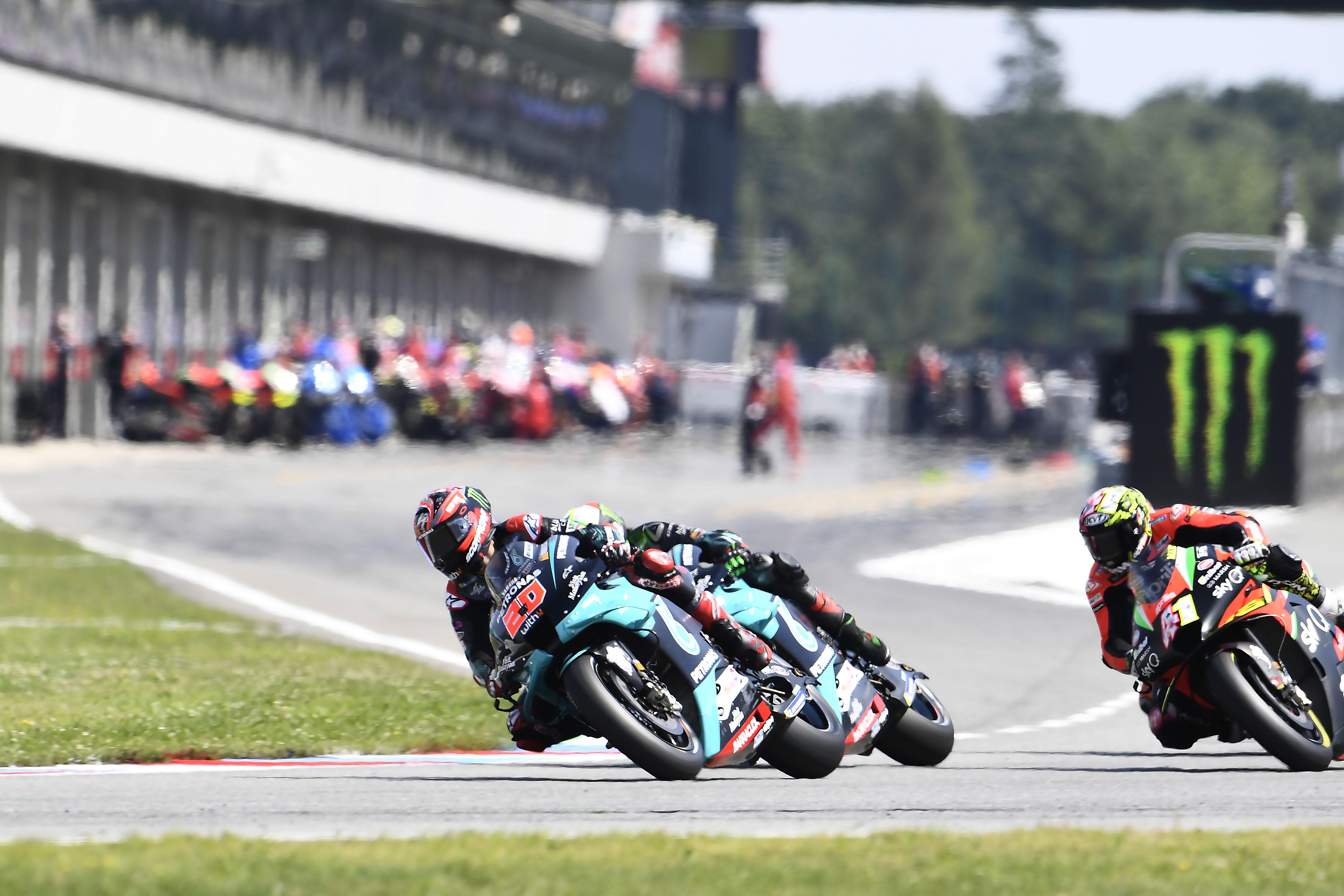 Fabio Quartararo Petronas SRT Yamaha Brno MotoGP 2020