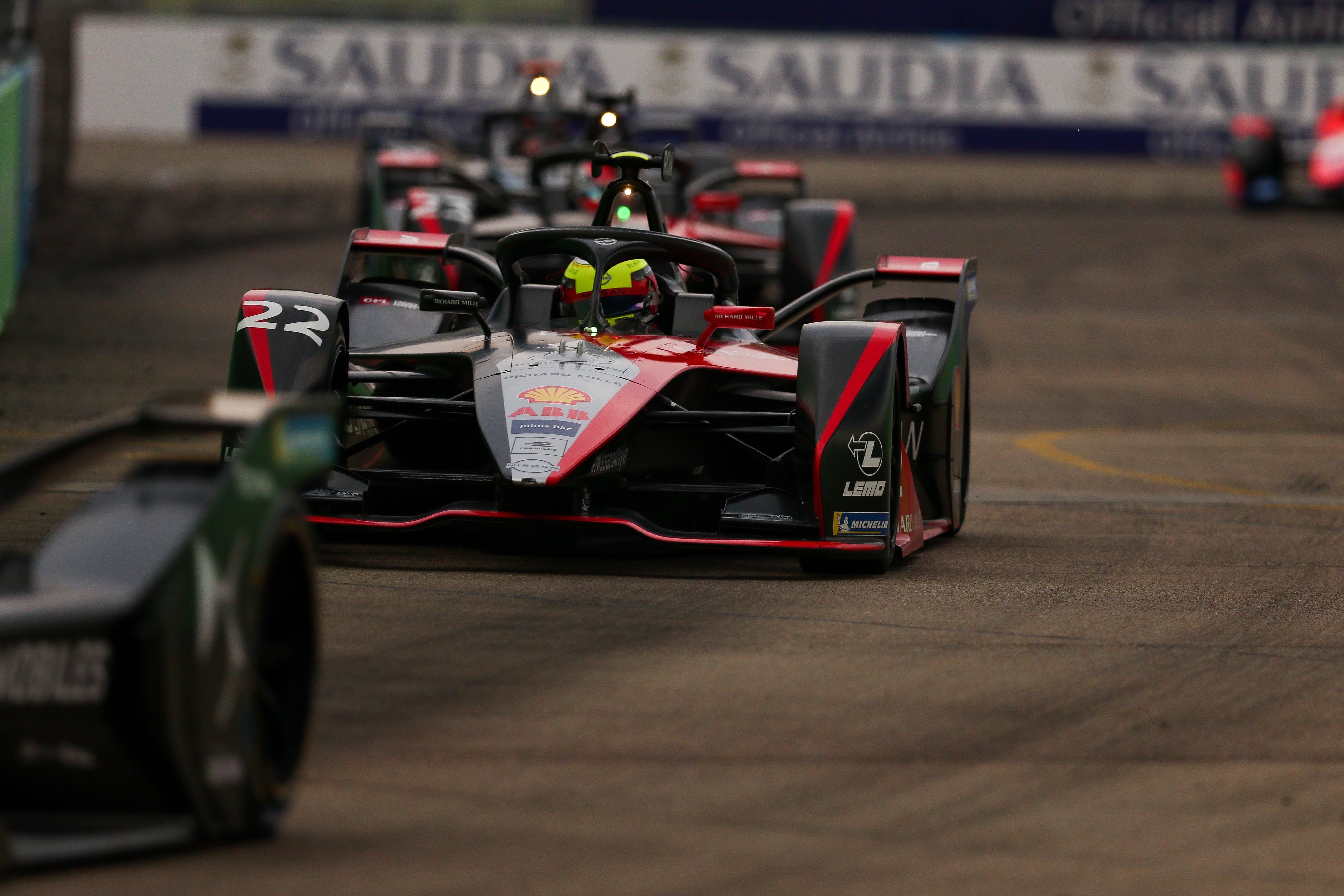 Oliver Rowland Nissan Berlin Formula E 2020
