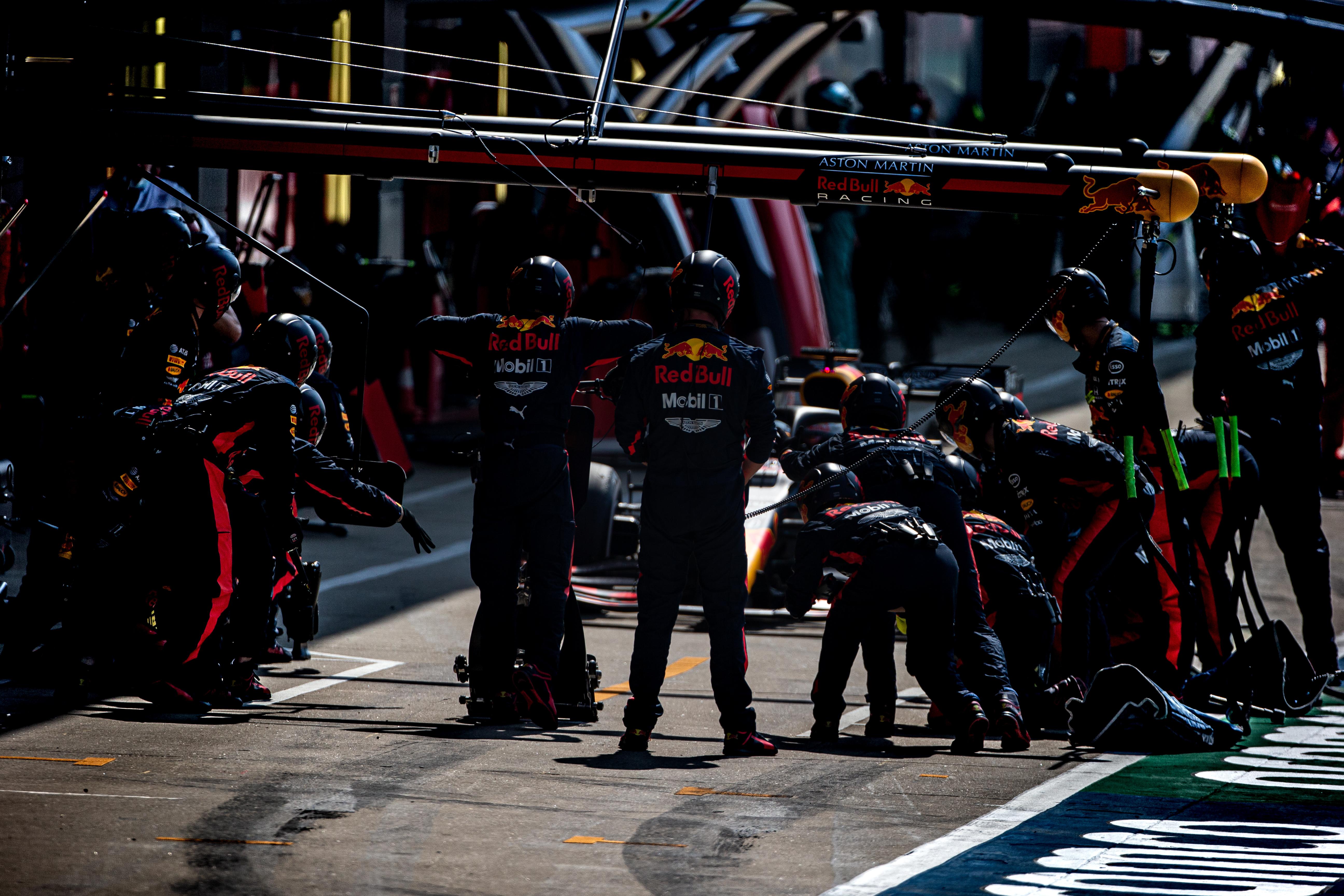 Max Verstappen Red Bull 70th Anniversary Grand Prix Silverstone 2020