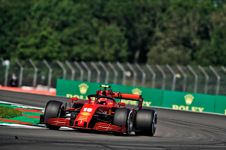 Charles Leclerc Ferrari Silverstone 2020