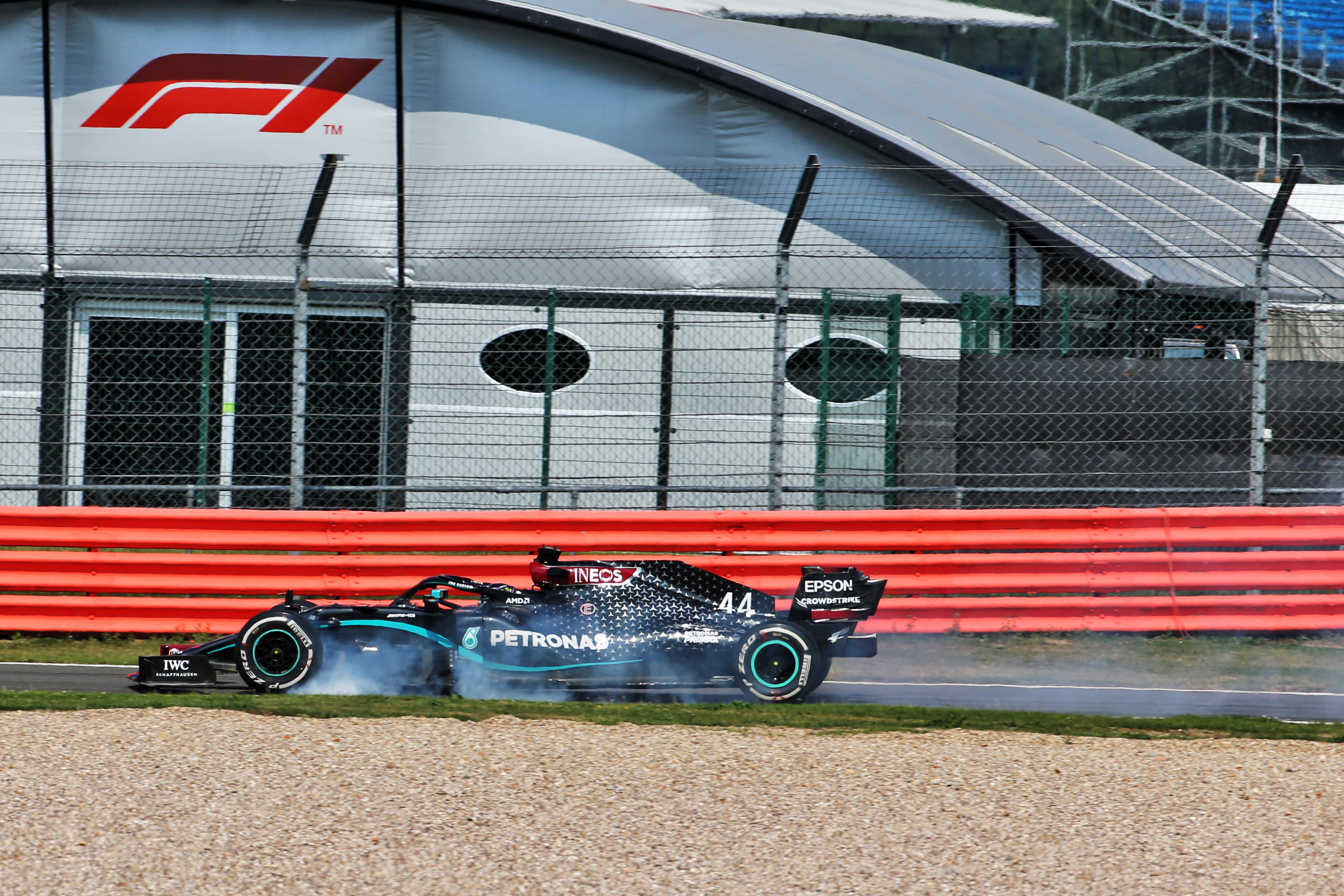 Lewis Hamilton Mercedes 70th Anniversary Grand Prix Silverstone 2020