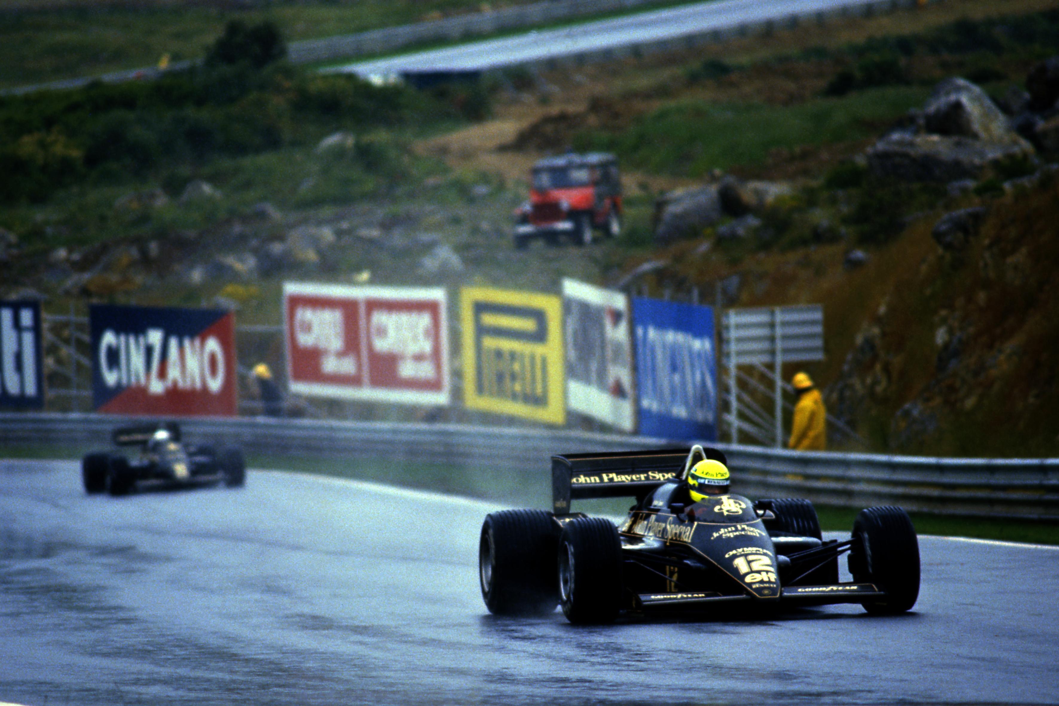 Ayrton Senna Lotus Estoril 1985