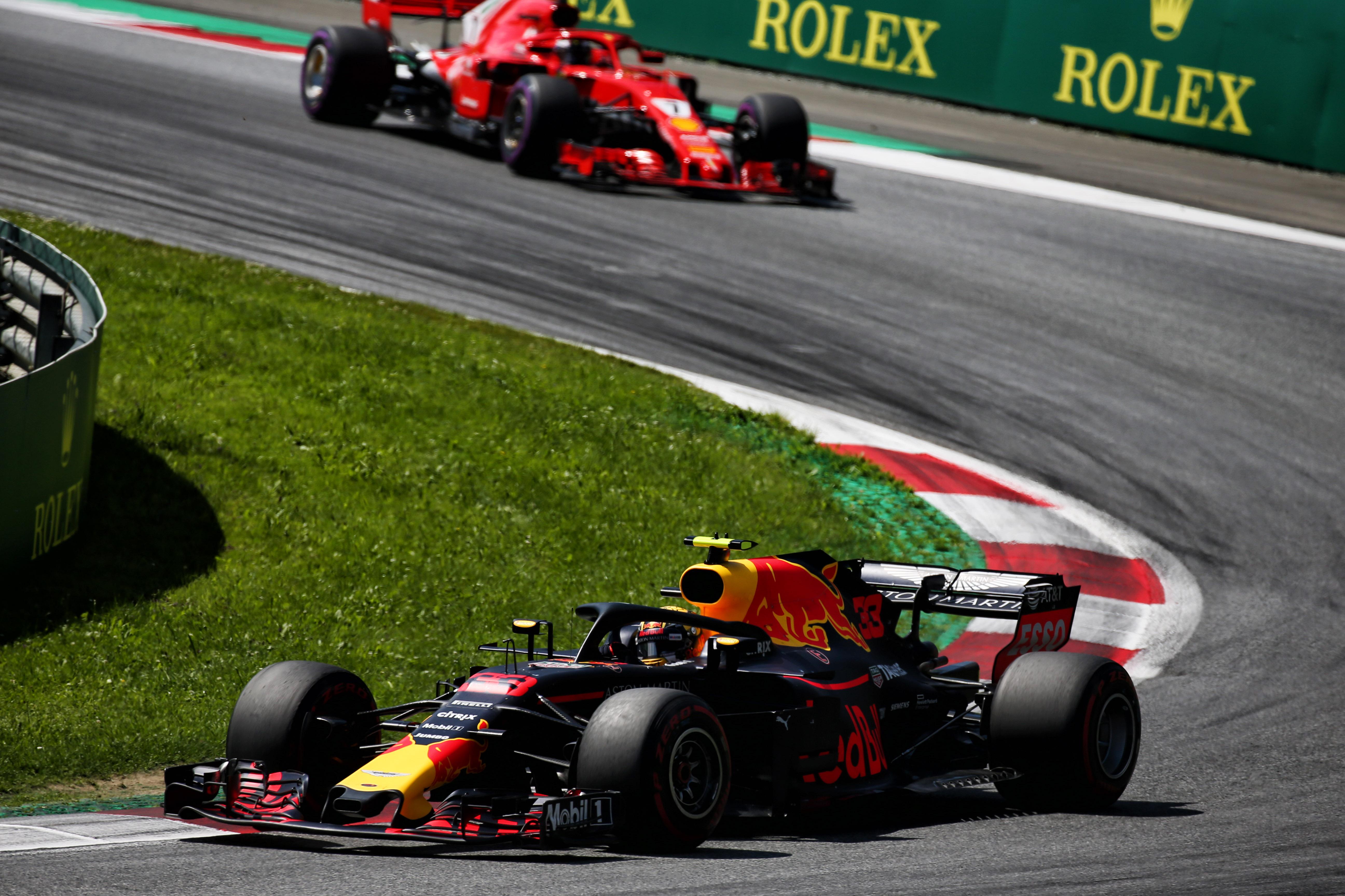 Max Verstappen Red Bull Austrian Grand Prix 2018