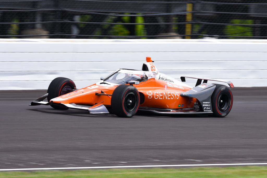 Hinchcliffe fastest, Alonso fifth as Indy practice begins - The Race