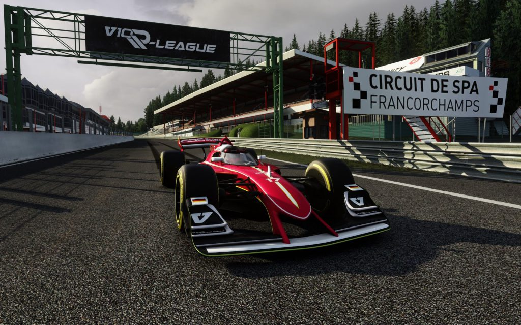 Head-to-head 'league' format for new V10 esports series - The Race