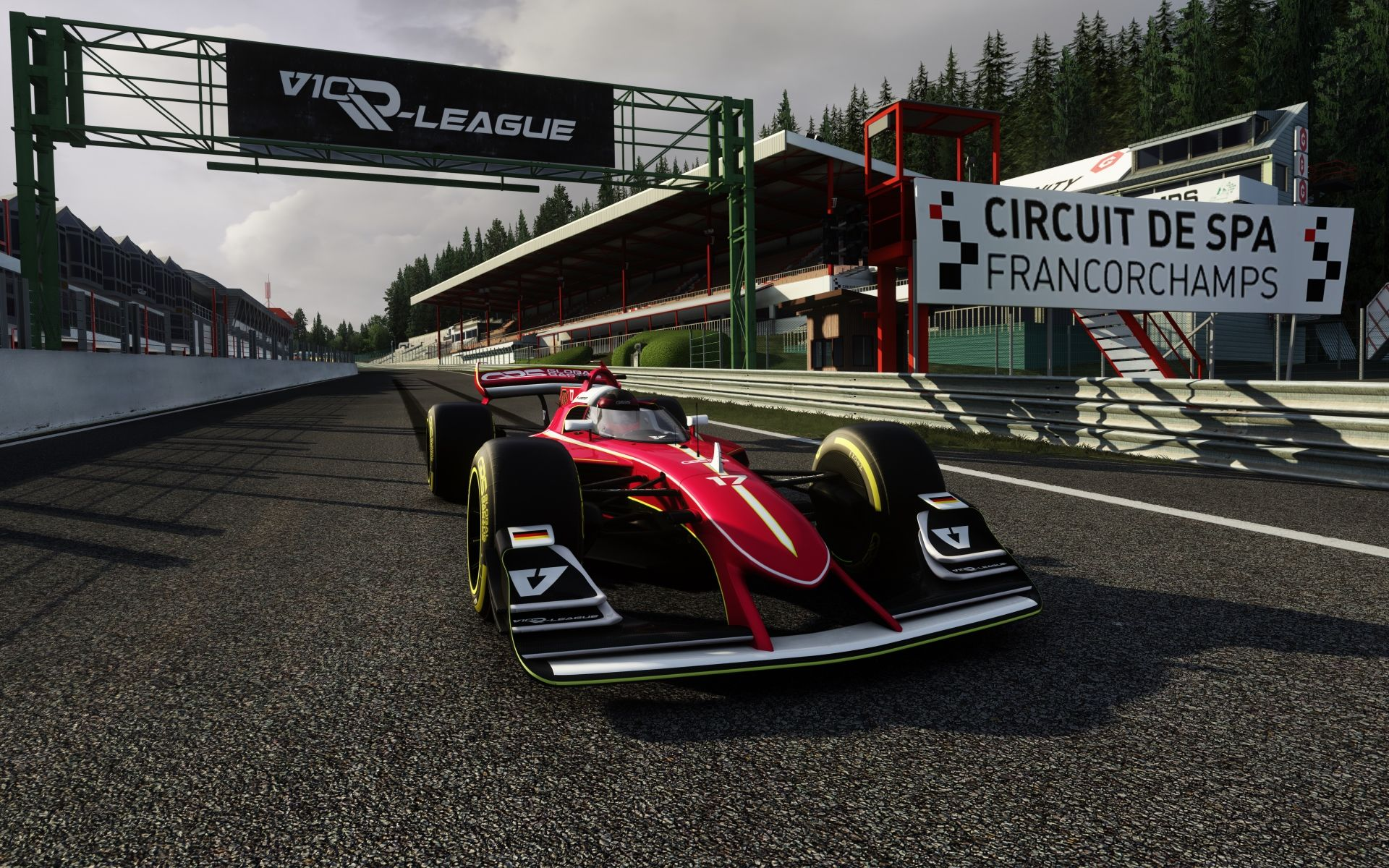 The Race launch new Assetto Corsa V10 esports series