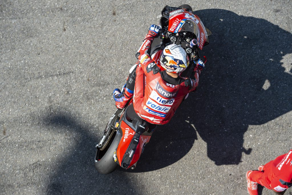 Crunch races for Dovizioso as he gets his tyre wish - The Race
