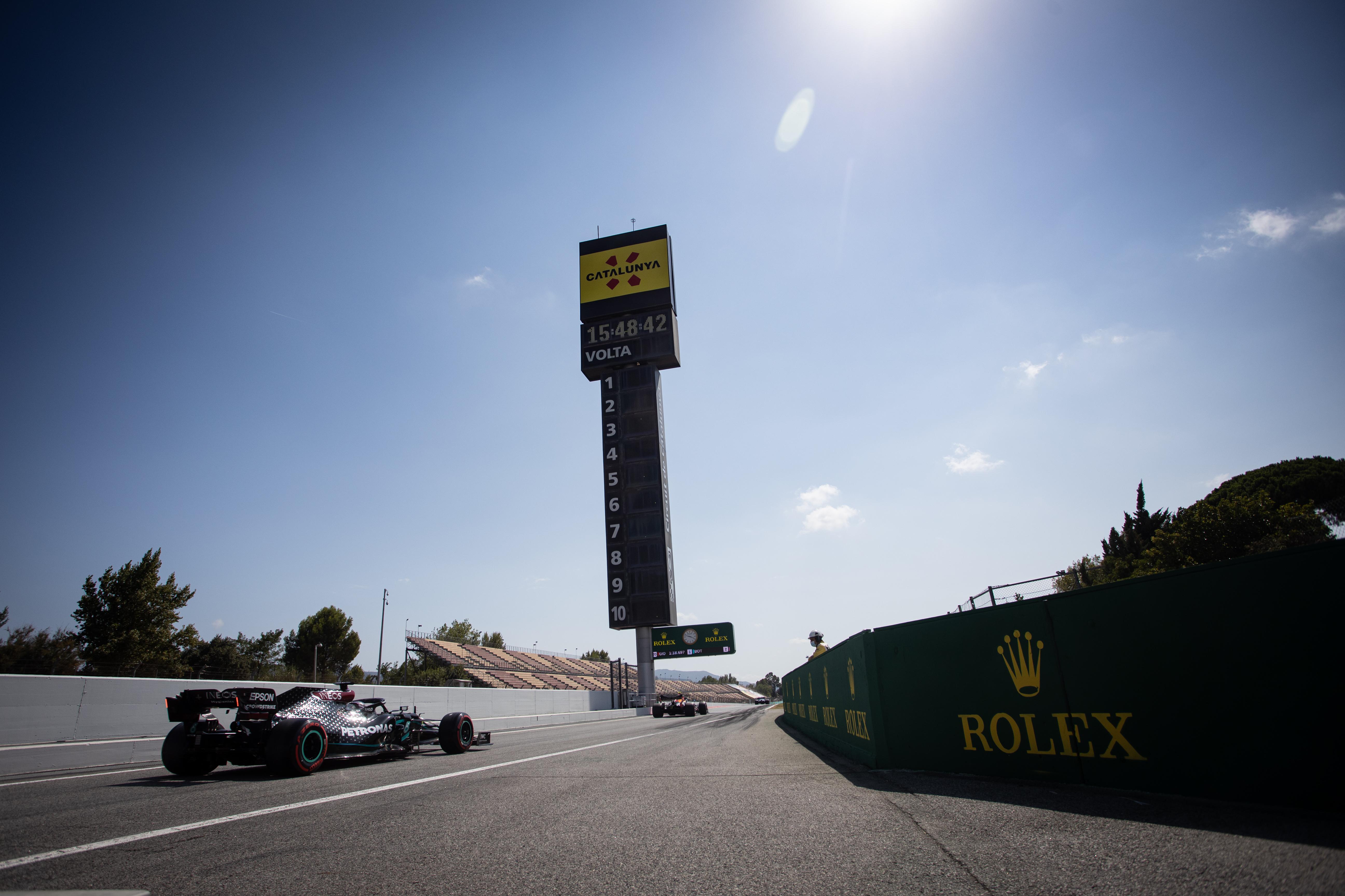 Motor Racing Formula One World Championship Spanish Grand Prix Qualifying Day Barcelona, Spain