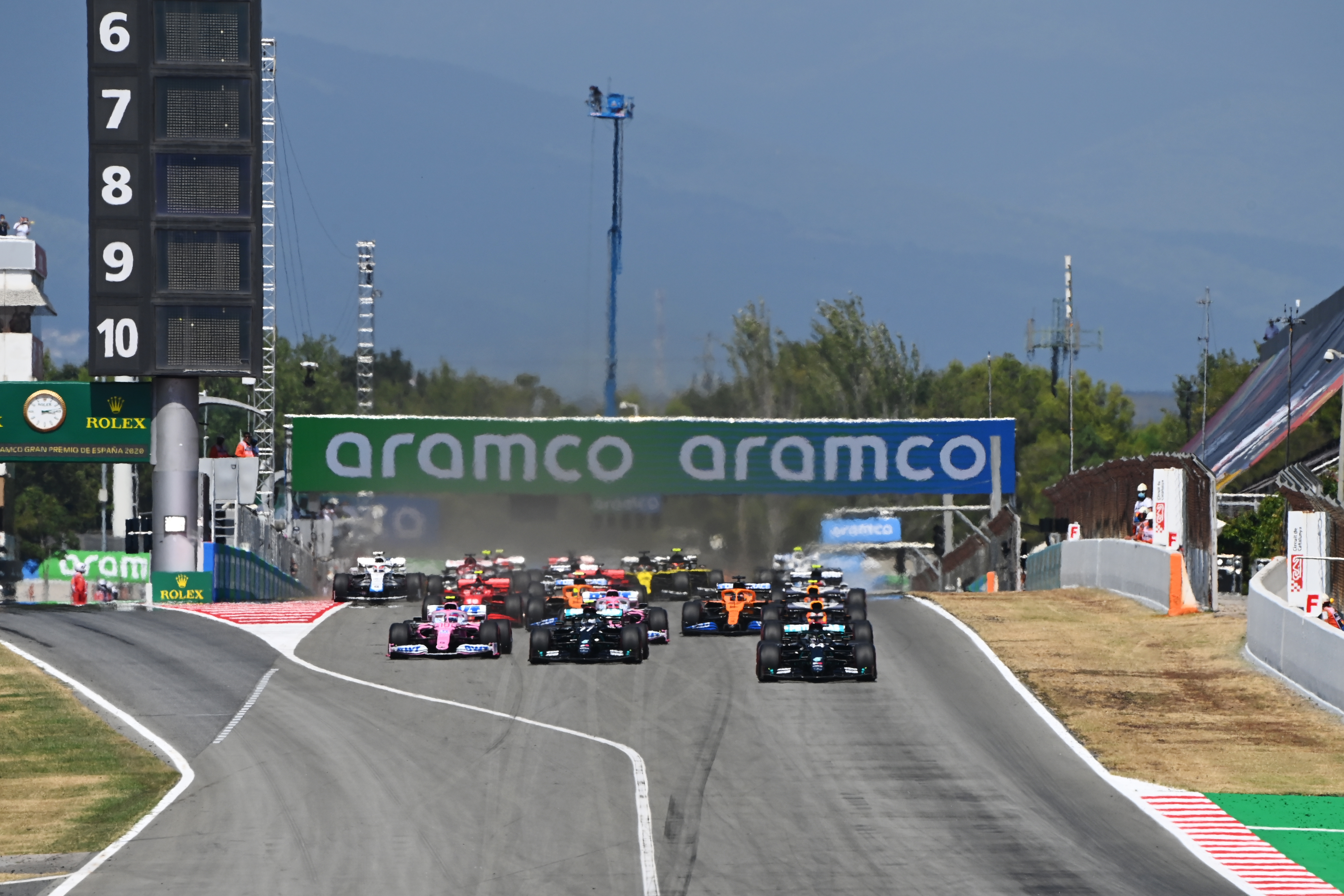 Motor Racing Formula One World Championship Spanish Grand Prix Race Day Barcelona, Spain